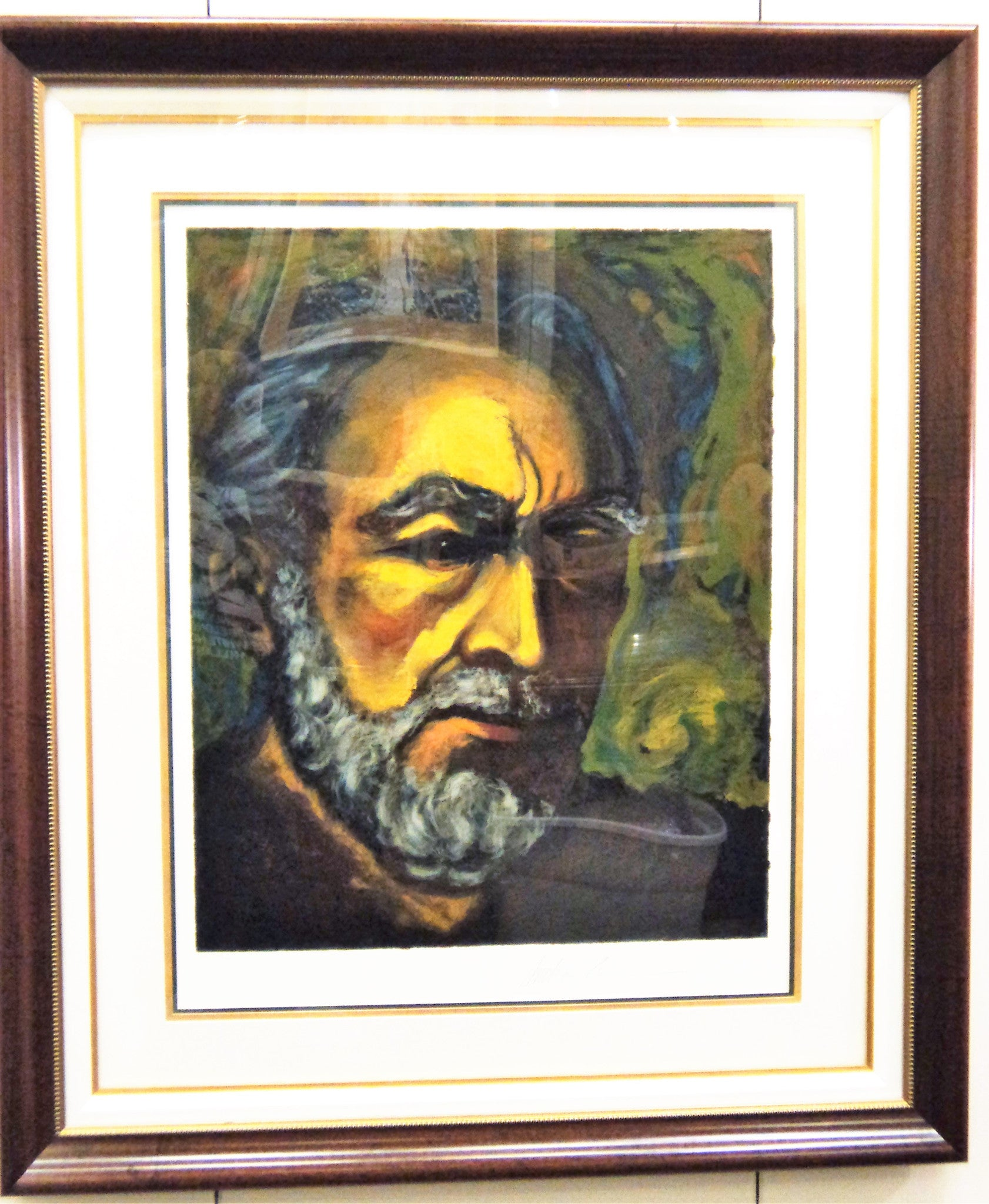Anthony Quinn (1915-2001) Self Portrait Litho