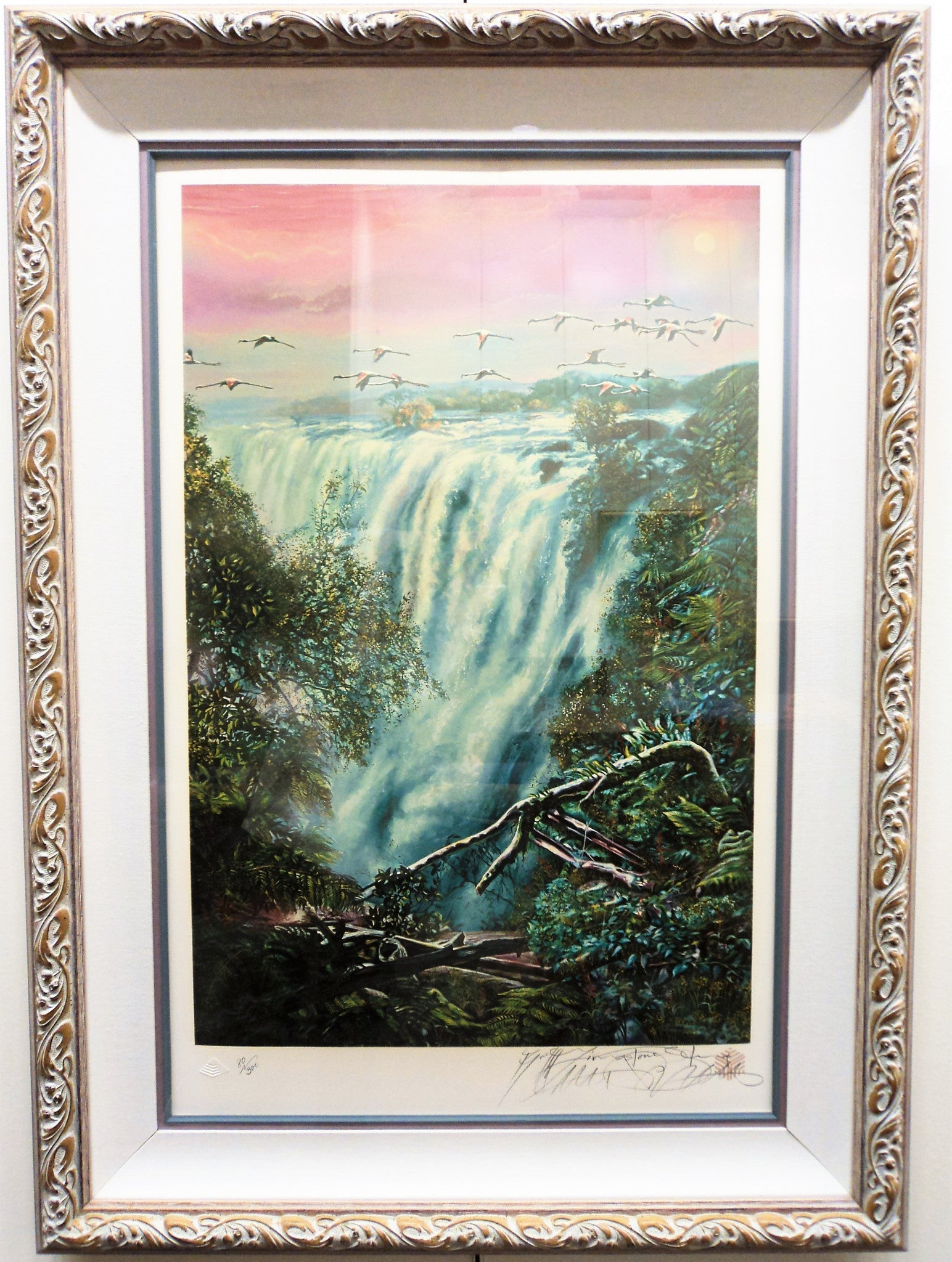 Brett-Livingstone Strong (1954-) Natural Wonders Serigraph