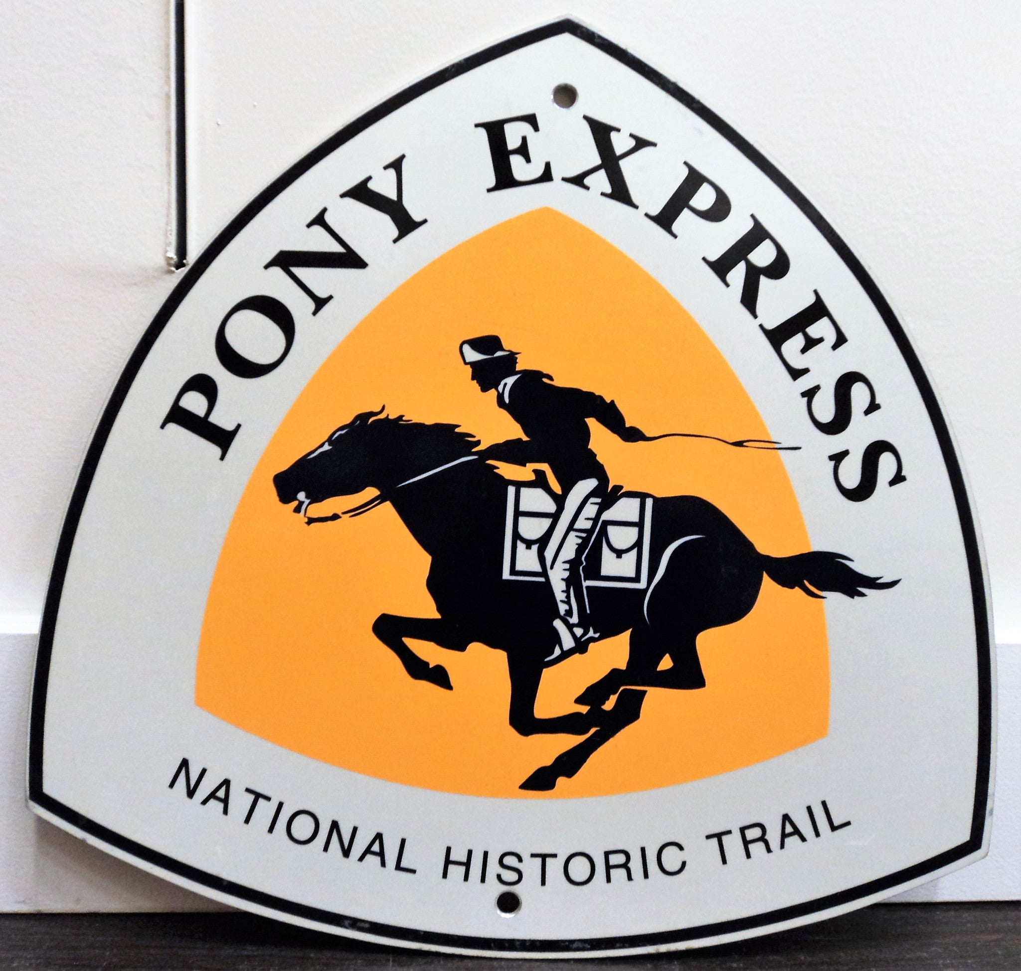 Pony Express National Historic Trail Metal Sign