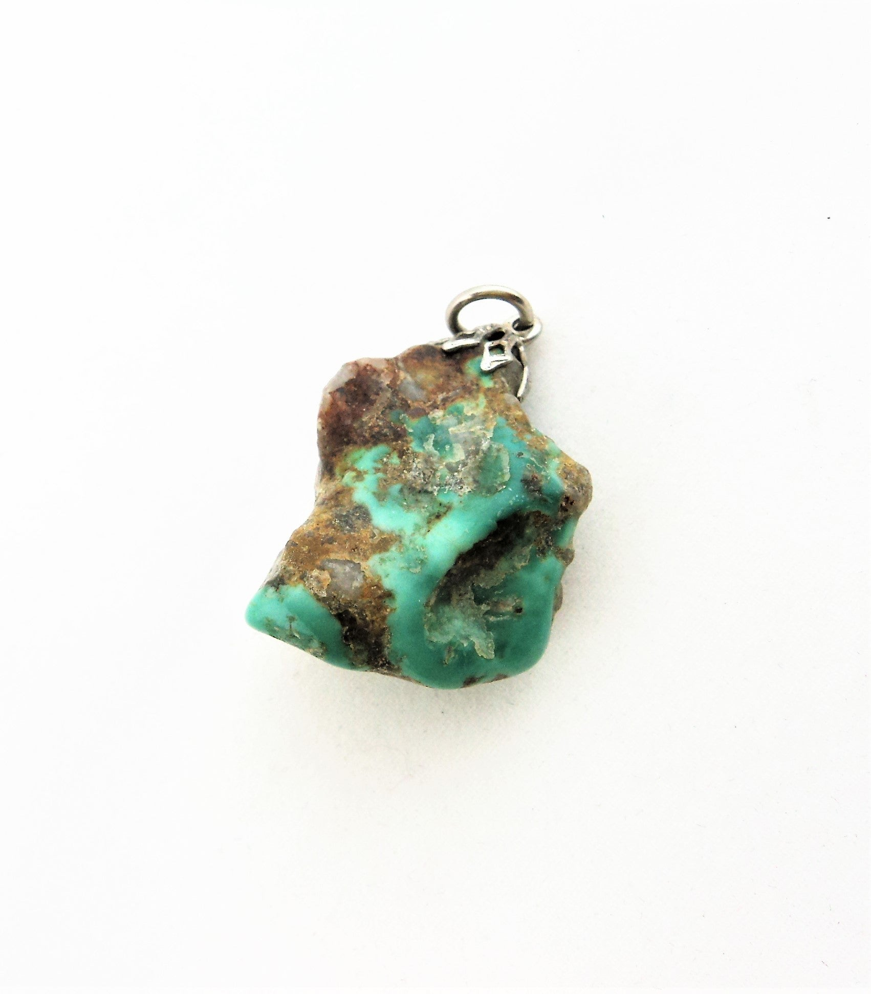 Turquoise Nugget Pendant