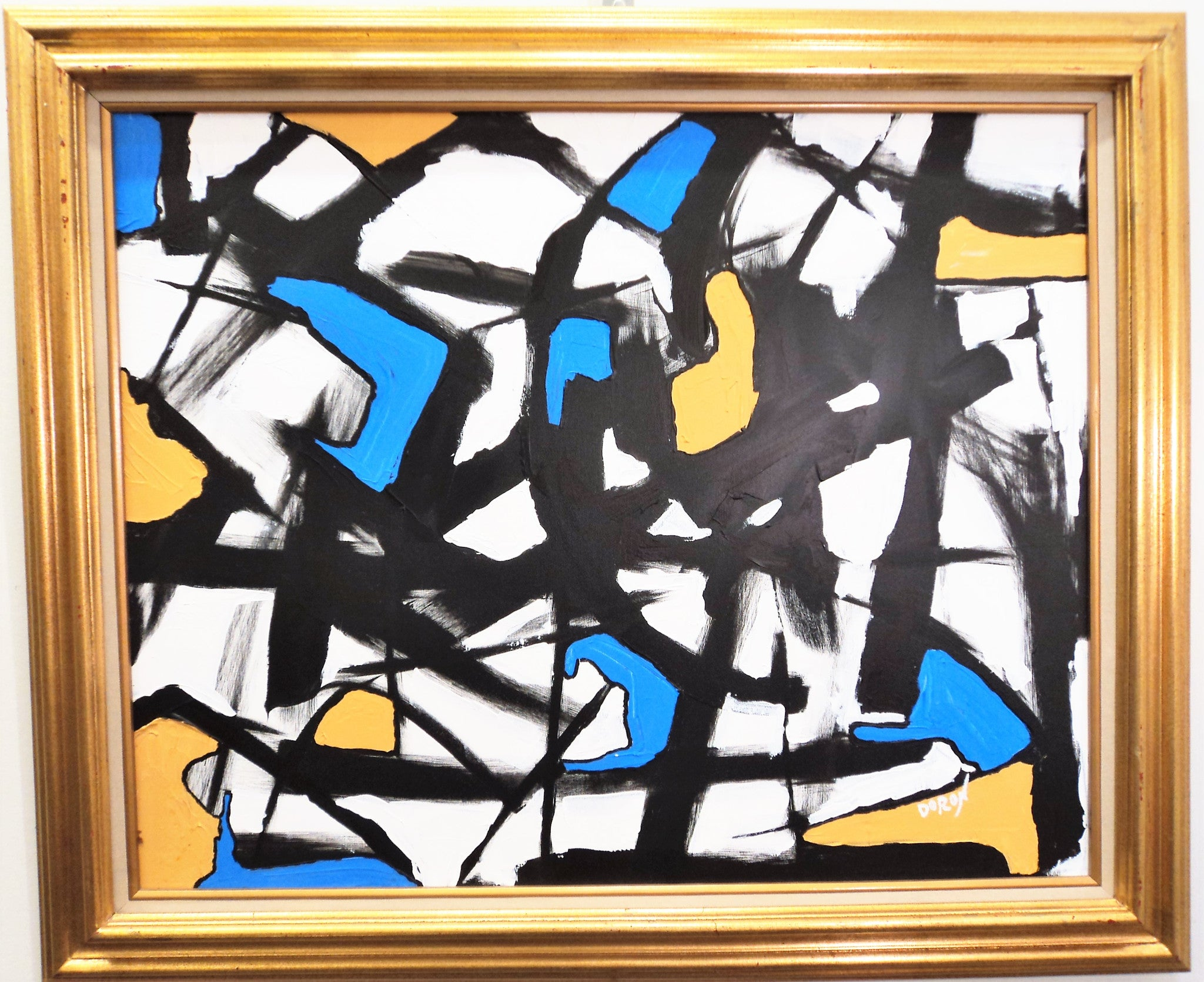 Doron Noyman Abstract Oil Painting