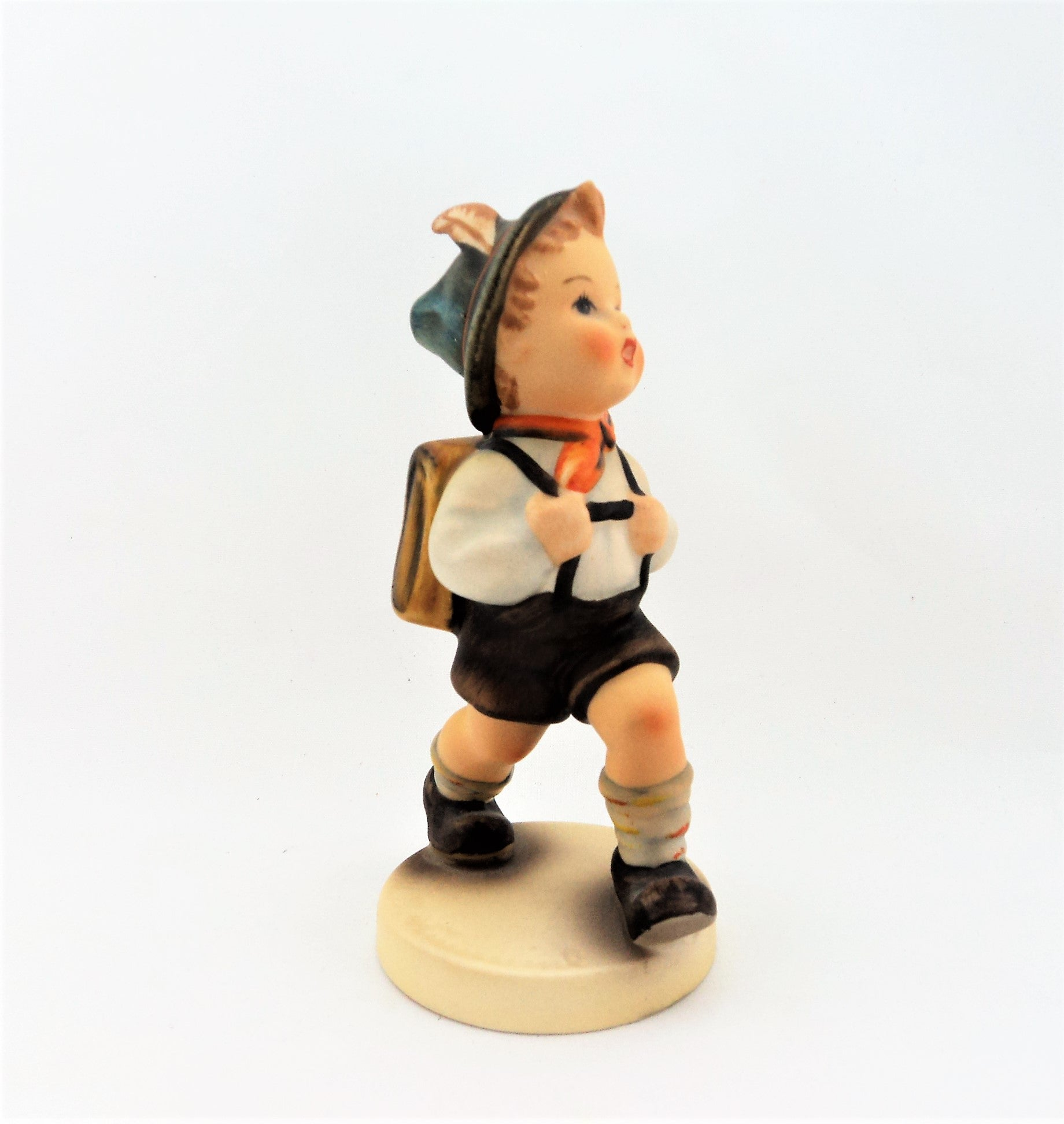 Vintage Small Hummel School Boy Figurine