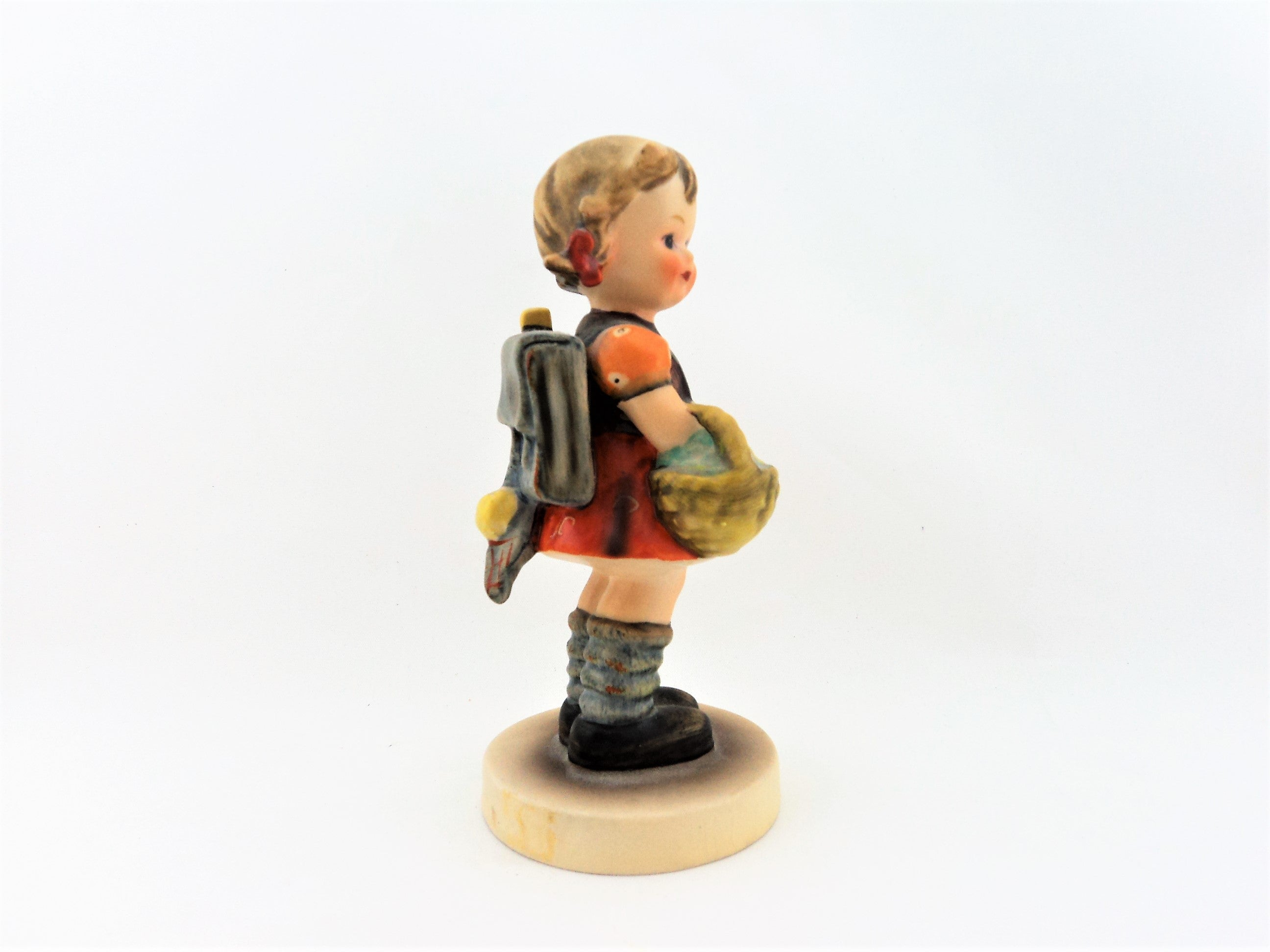 Vintage Hummel Girl with a Basket Figurine