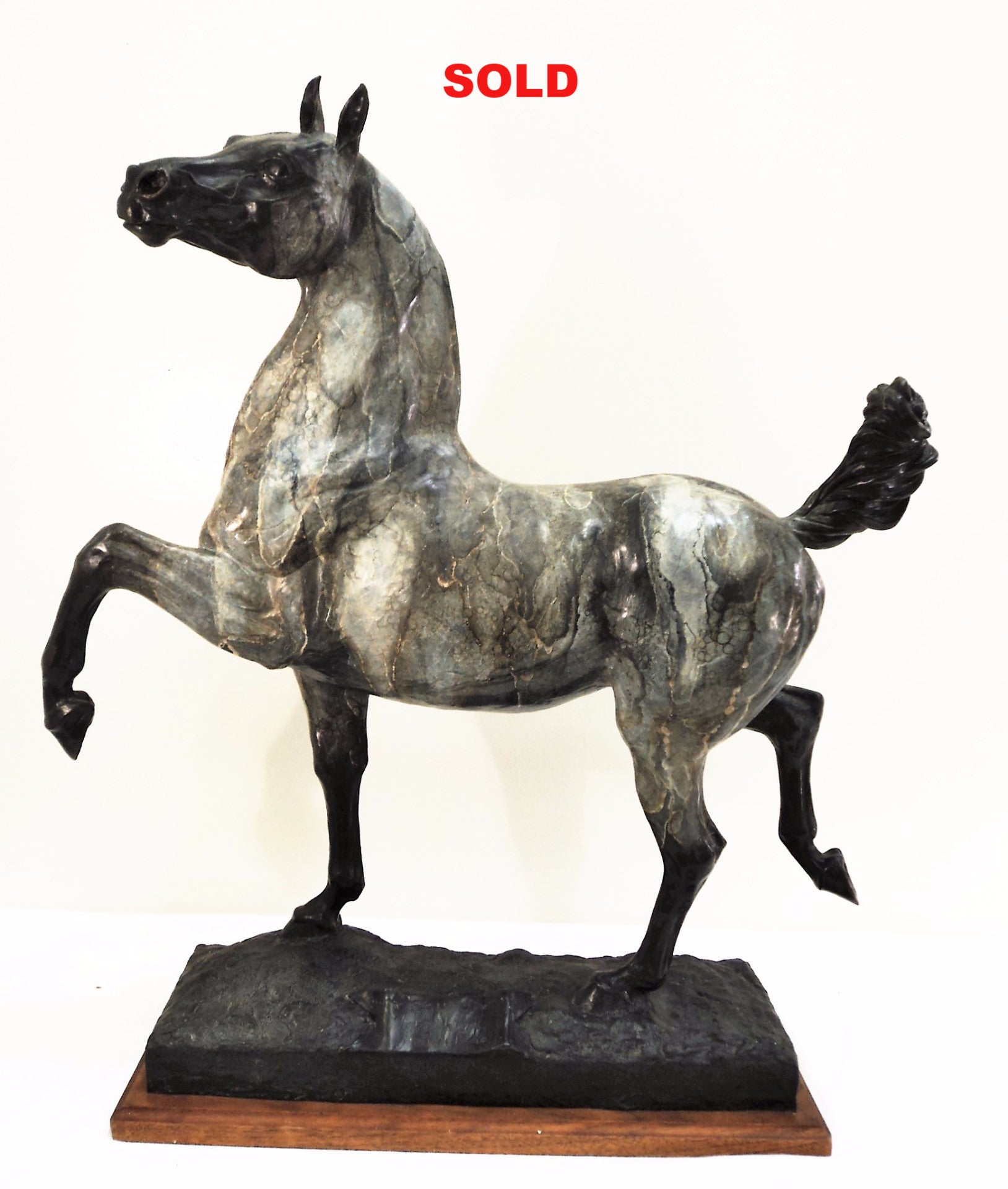 Gabe Gabel Limited Edition Horse Bronze Sculpture