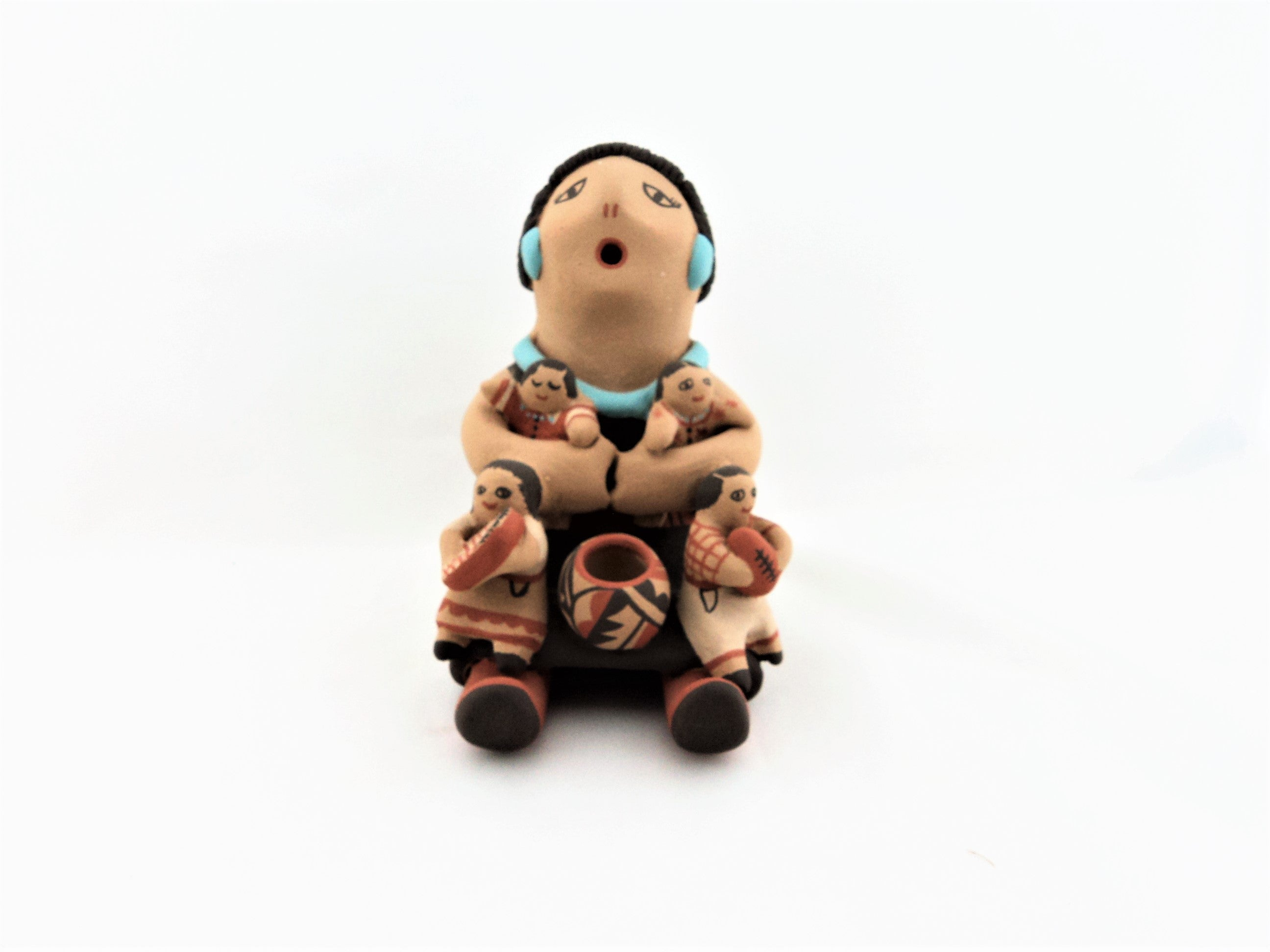 Jemez Storyteller Pottery Figure