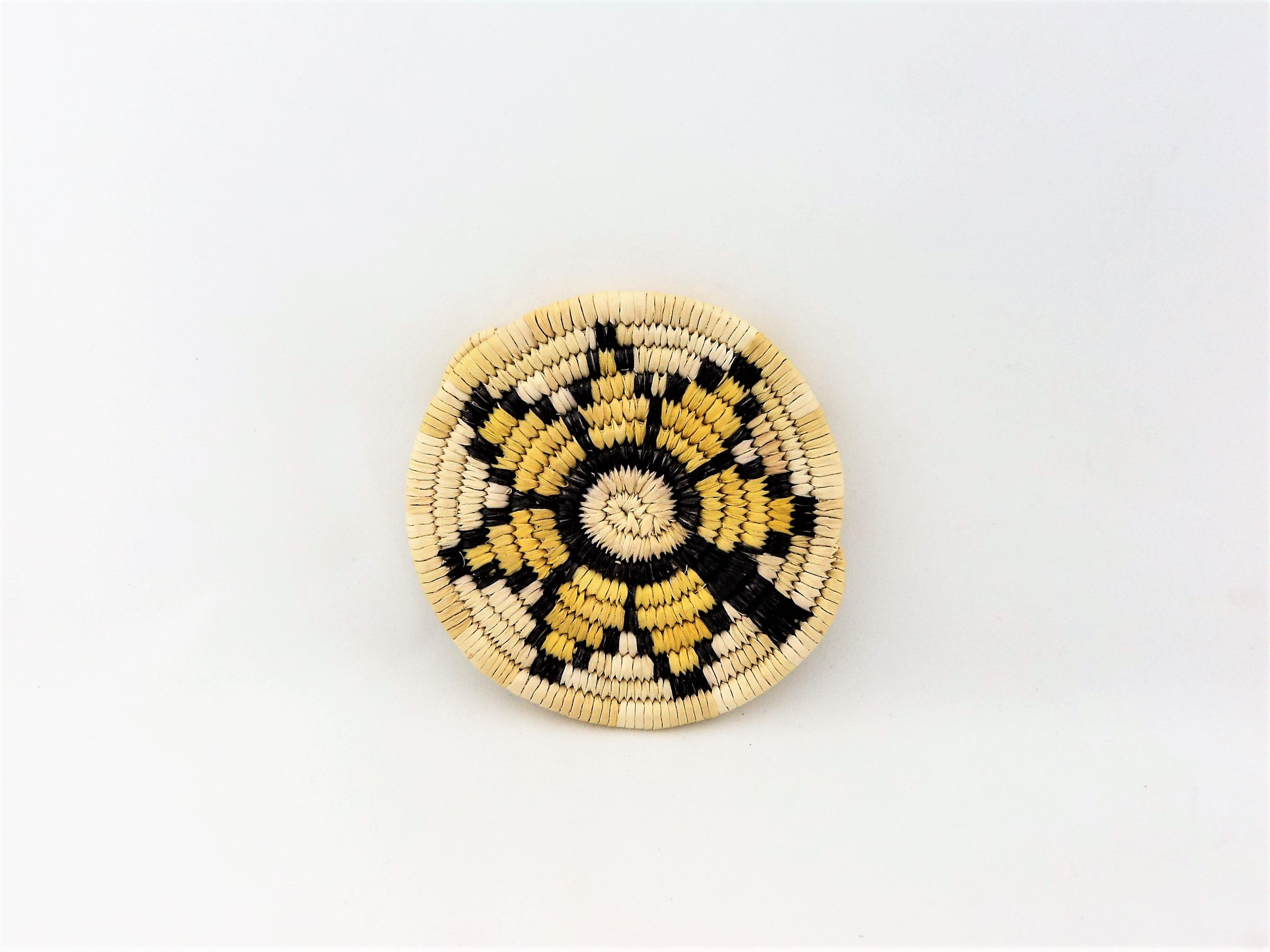 Hopi Mini Polychrome Coil Plaque