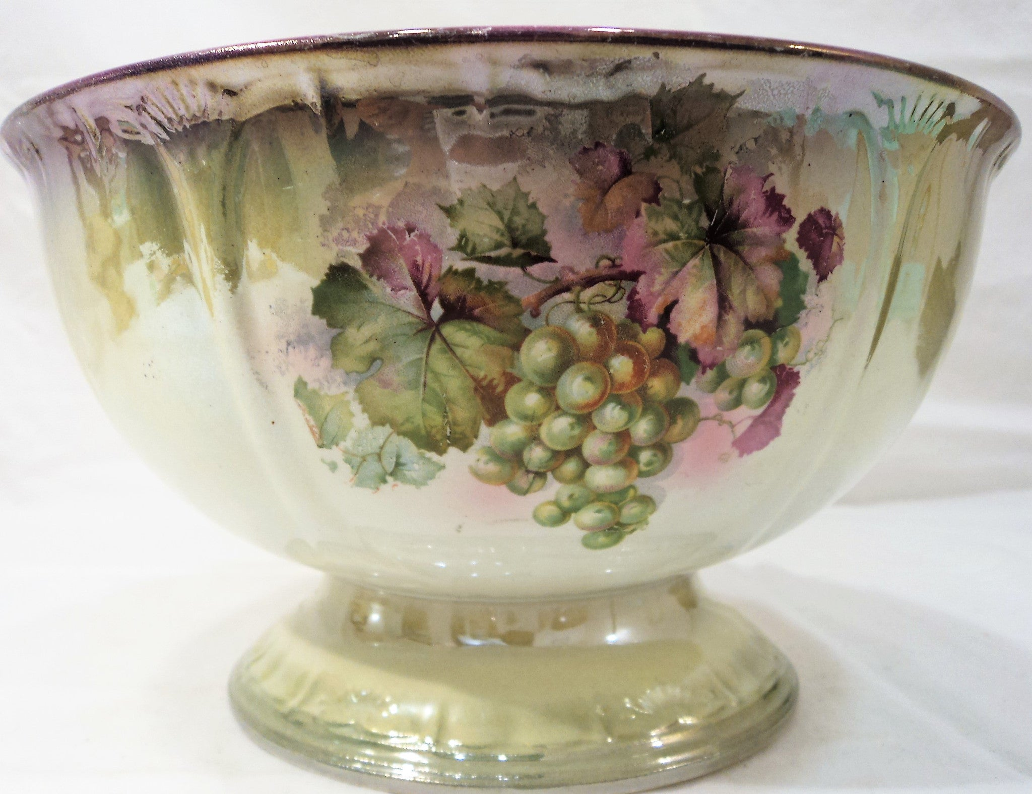 Antique German Footed Bowl
