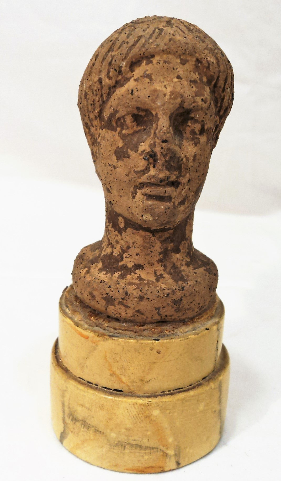Antique Miniature Bust of a Roman Male