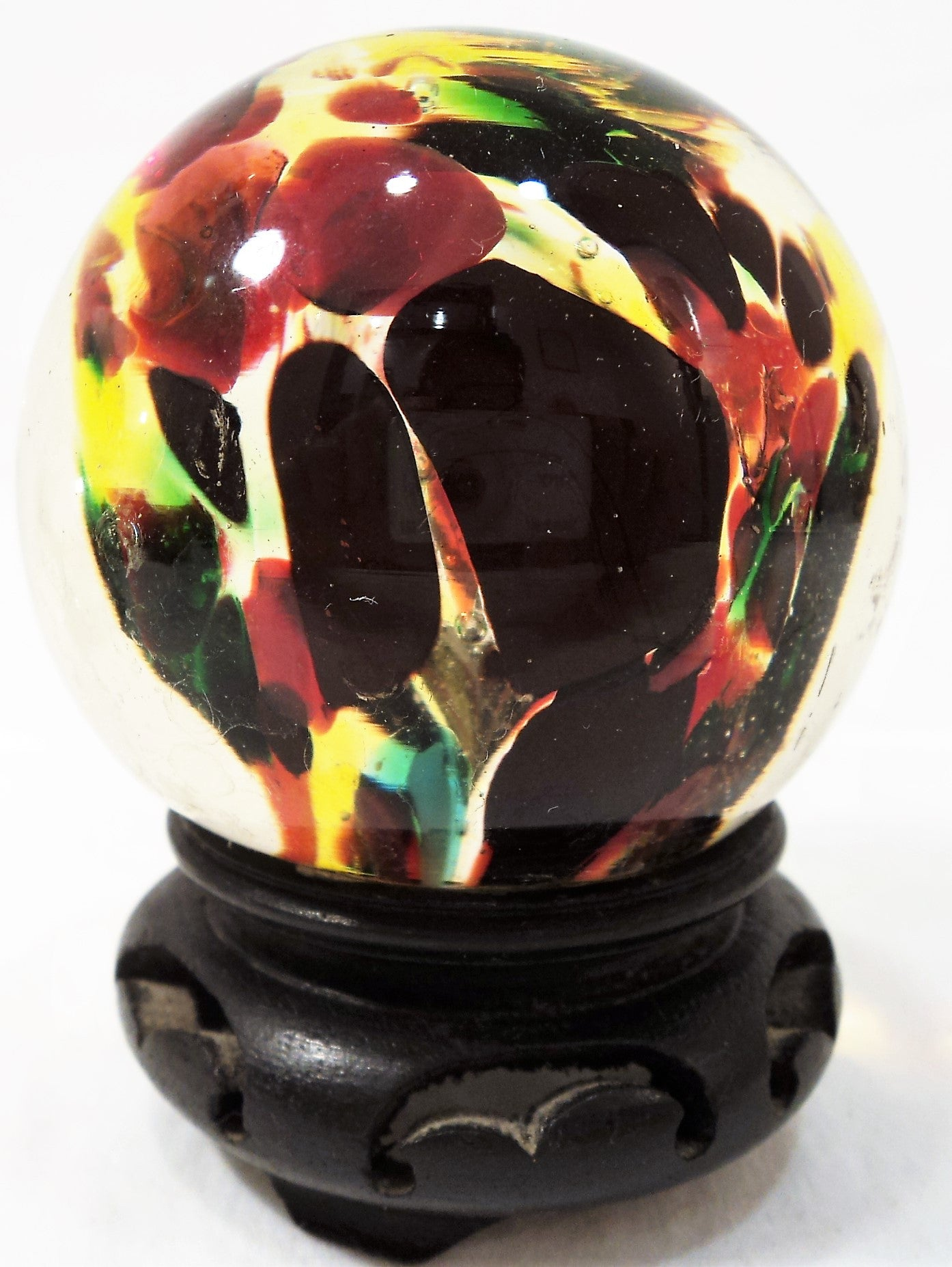 Multi-color Glass Paperweight