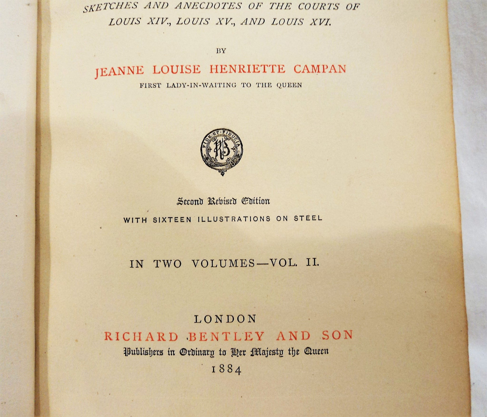 Antique Bentley & Son Two-Volume Books