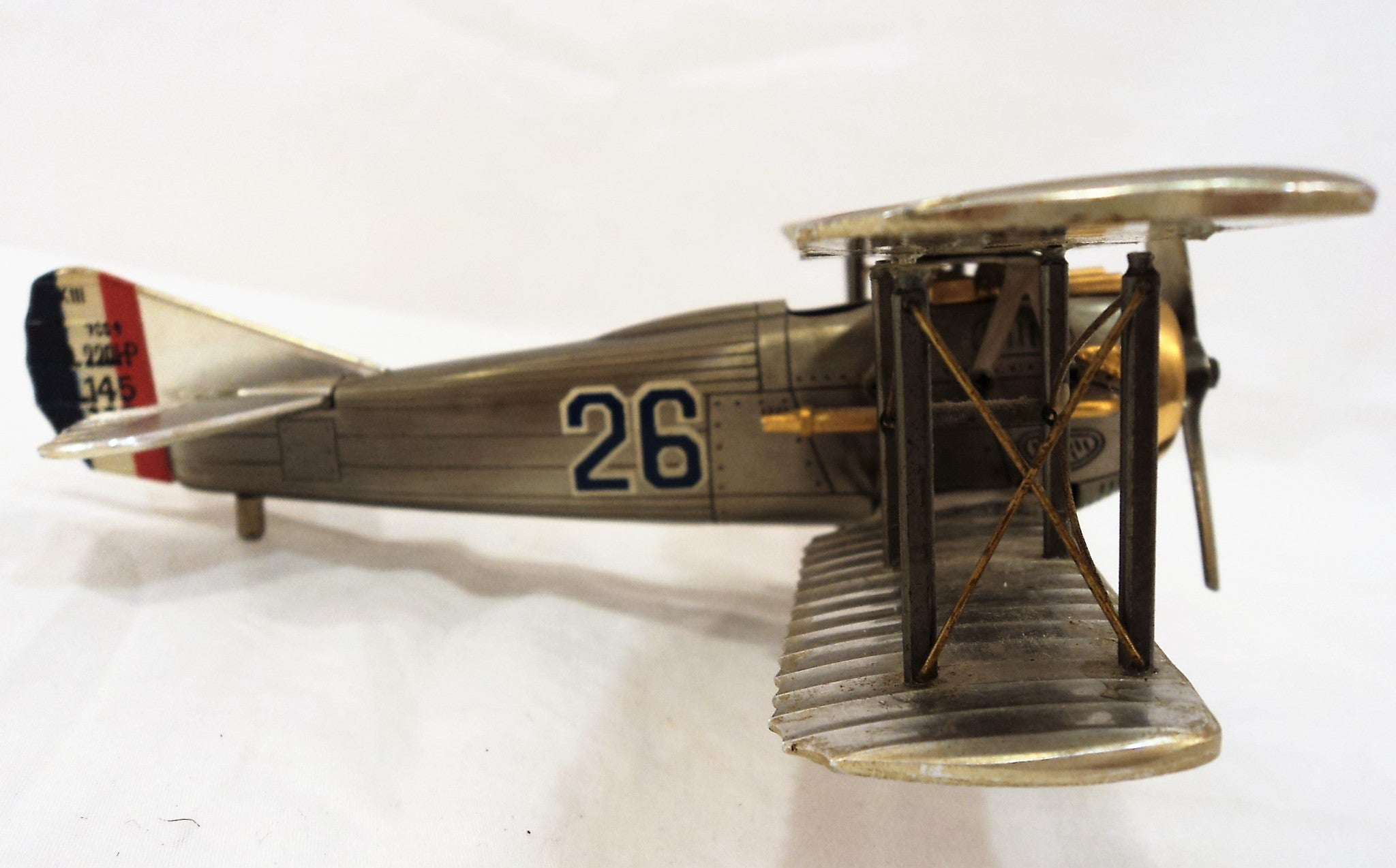 Vintage Die Cast Metal Model Plane
