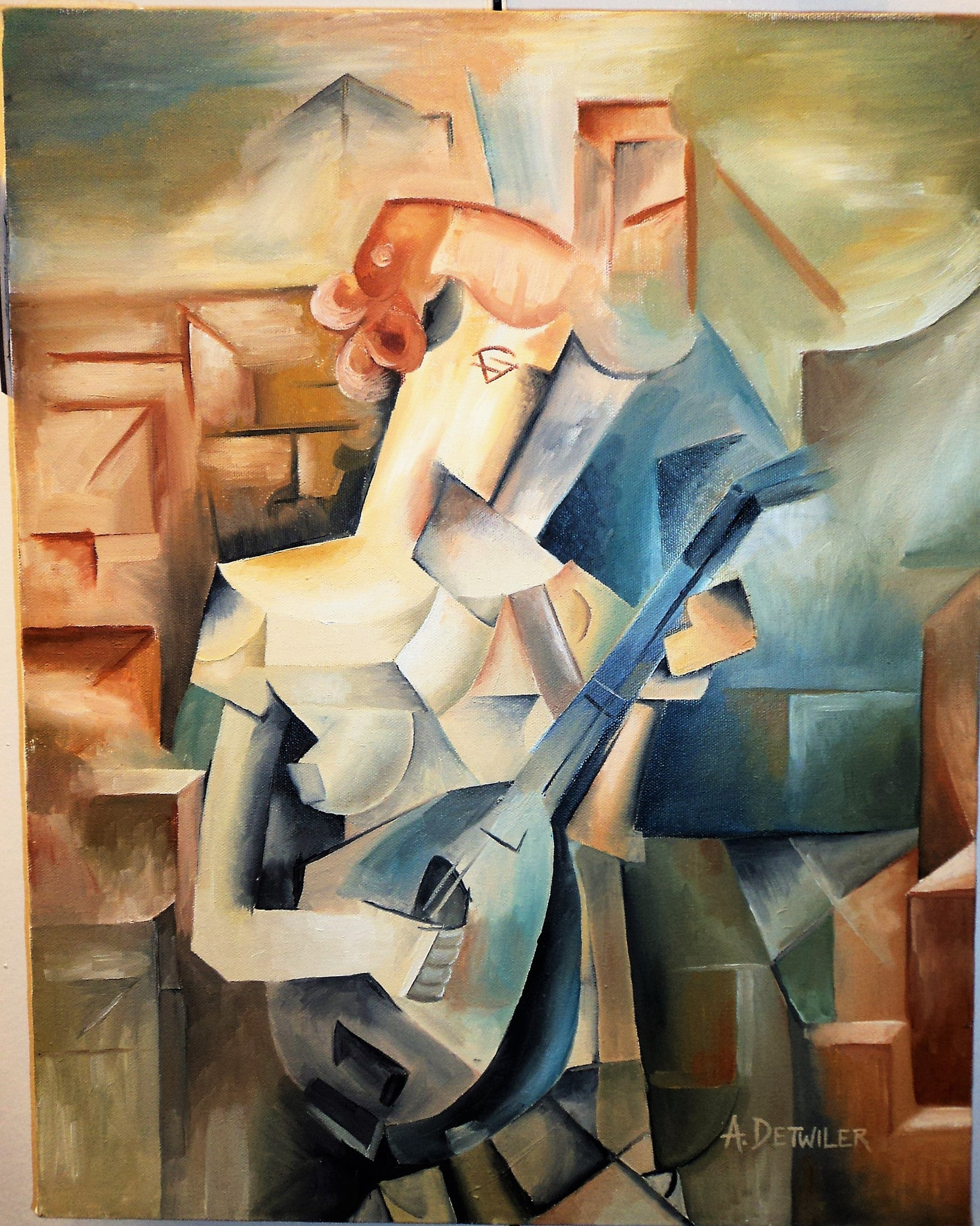 A. Detwiler Cubist Painting
