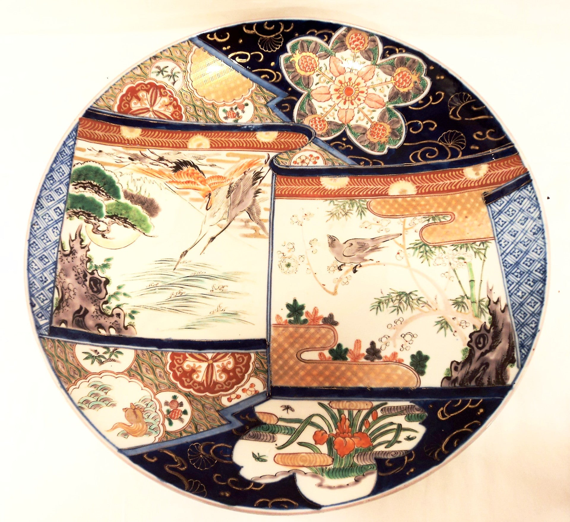 19th C. Japanese Imari Porcelain Charger