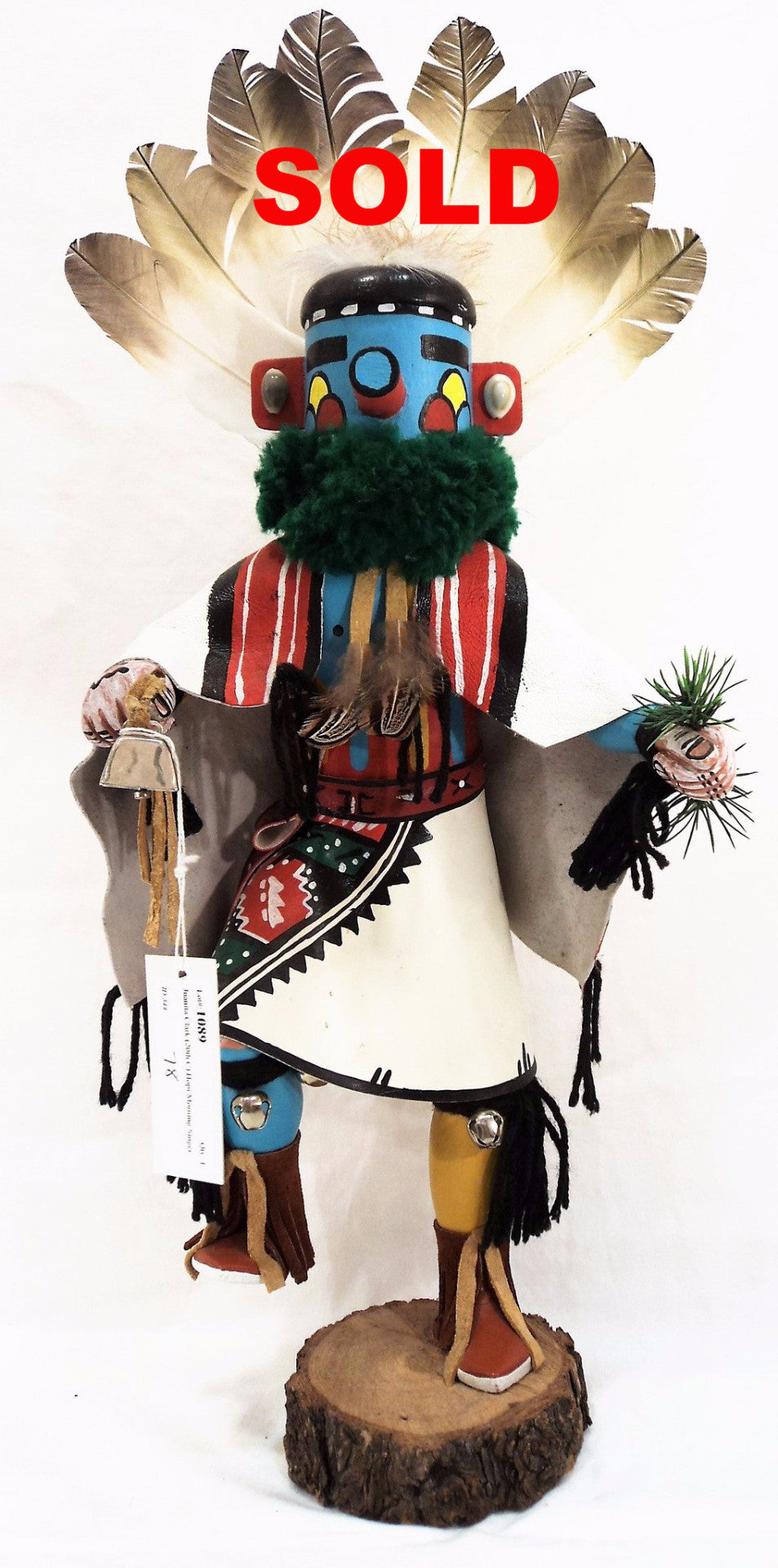 Juanita Clark (20th C.) Hopi Morning Singer Kachina