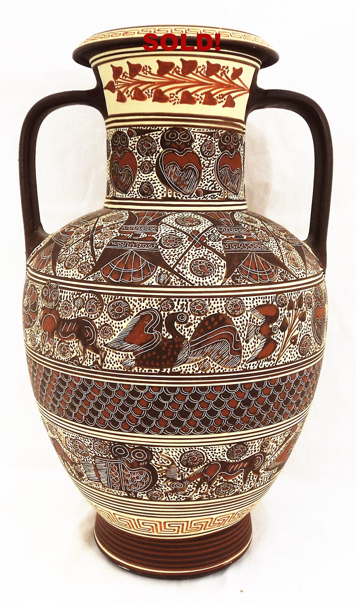 Ancient Corinthian Reproduction Vase