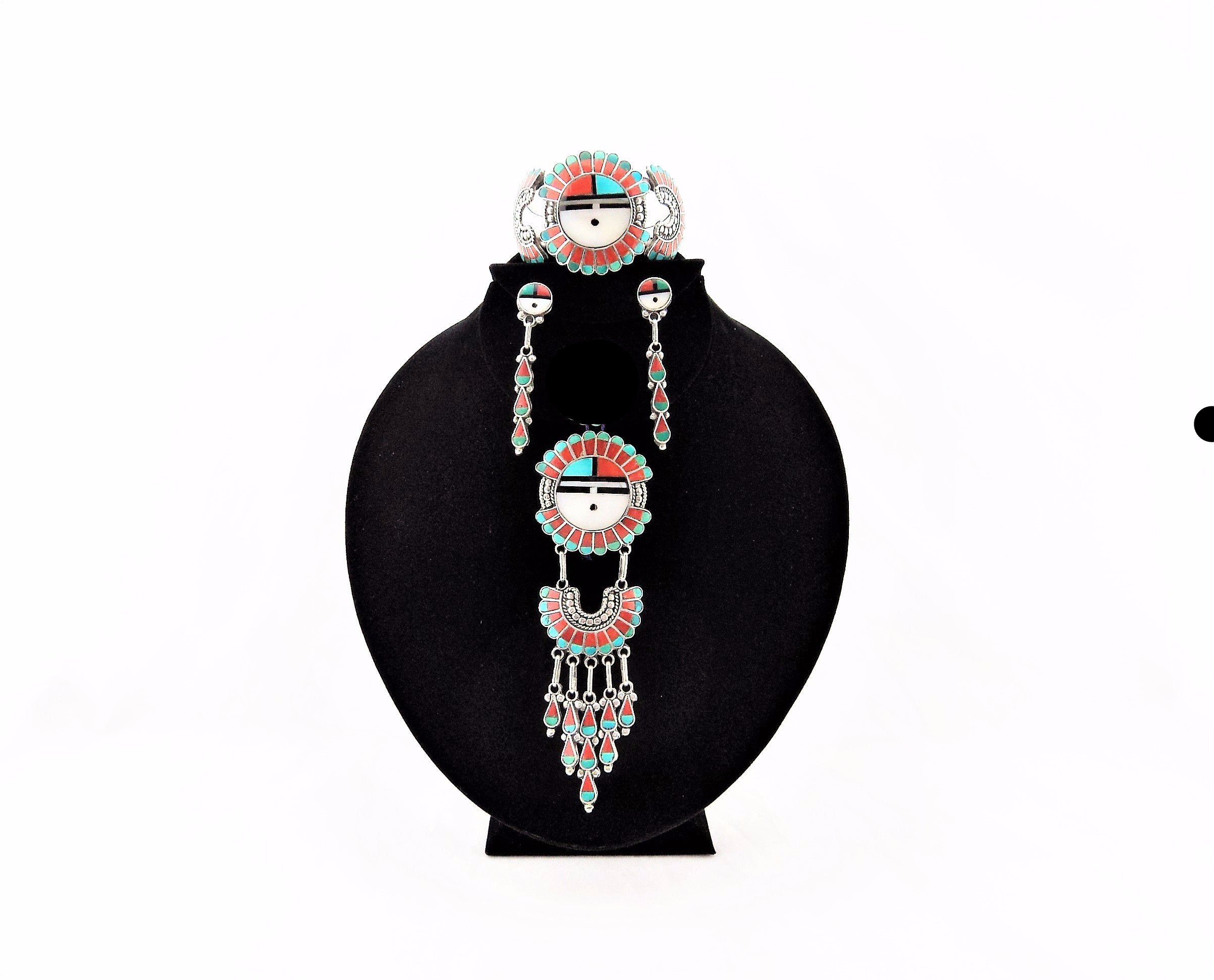 Roger and Lela Cellicion Zuni Jewelry Suite
