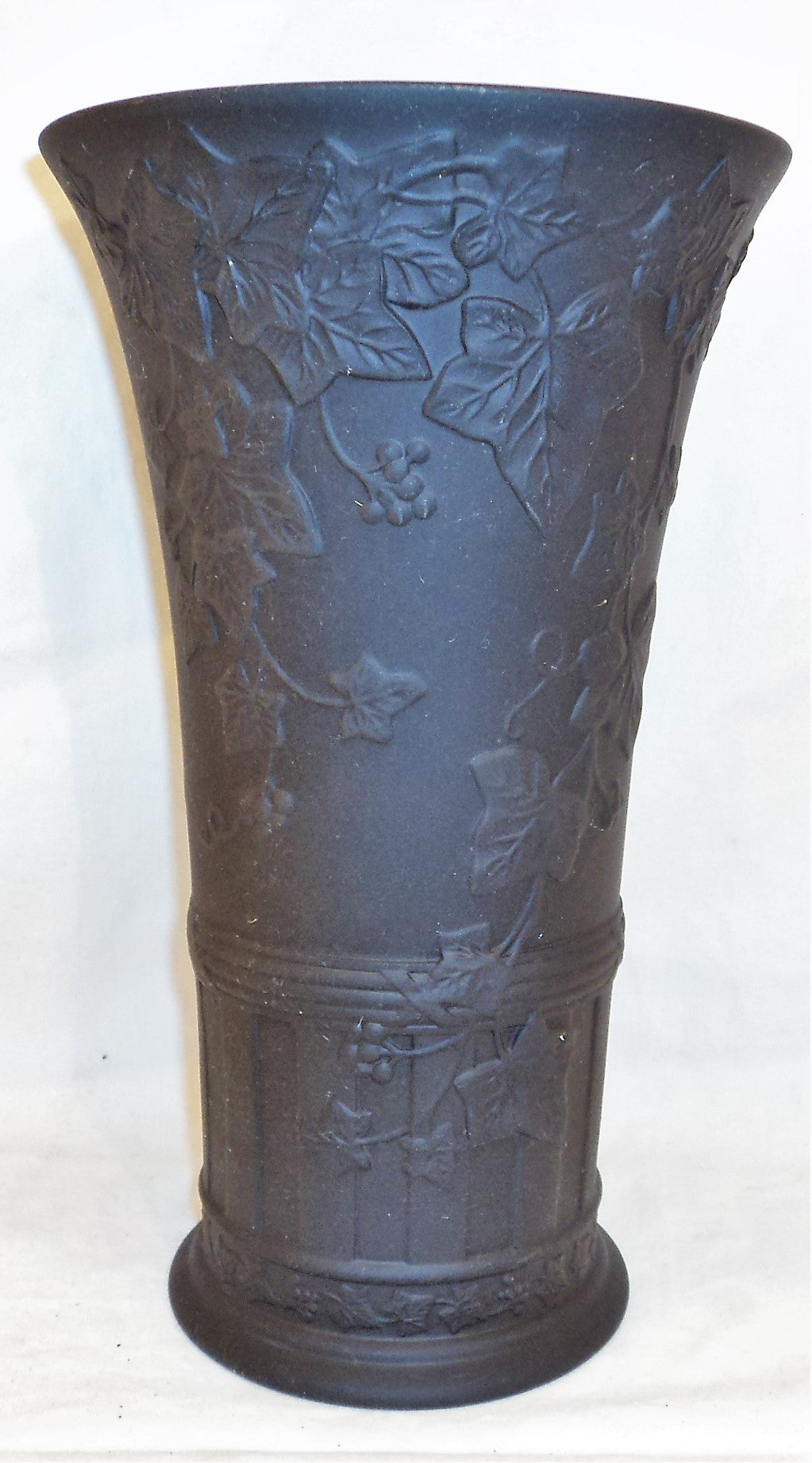 Vintage Wedgwood Blackware Vase
