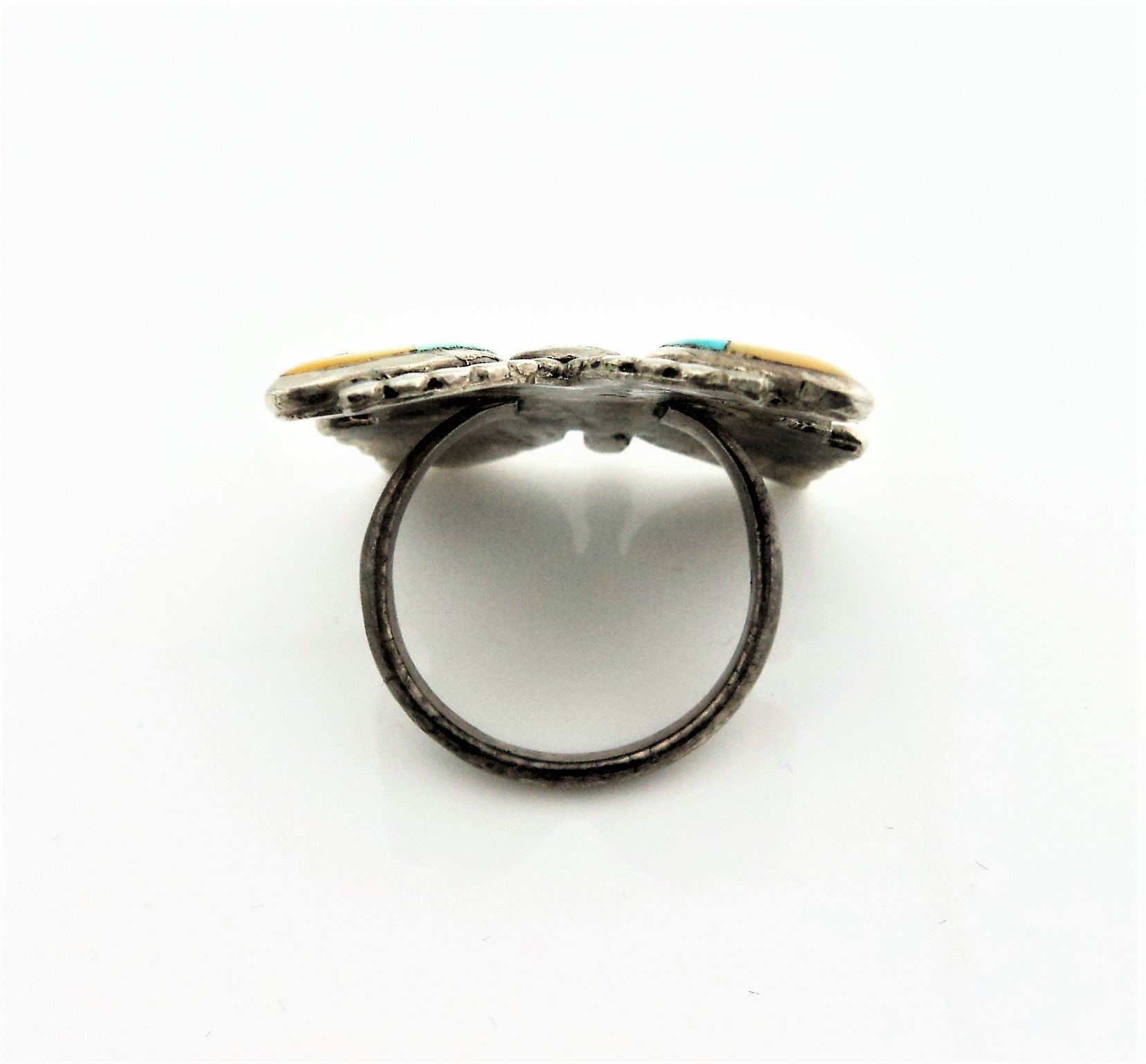 Zuni Sterling Silver Butterfly Ring