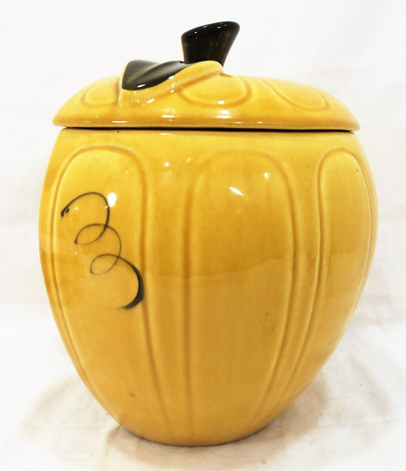 Vintage 1960s Apple Cookie Jar