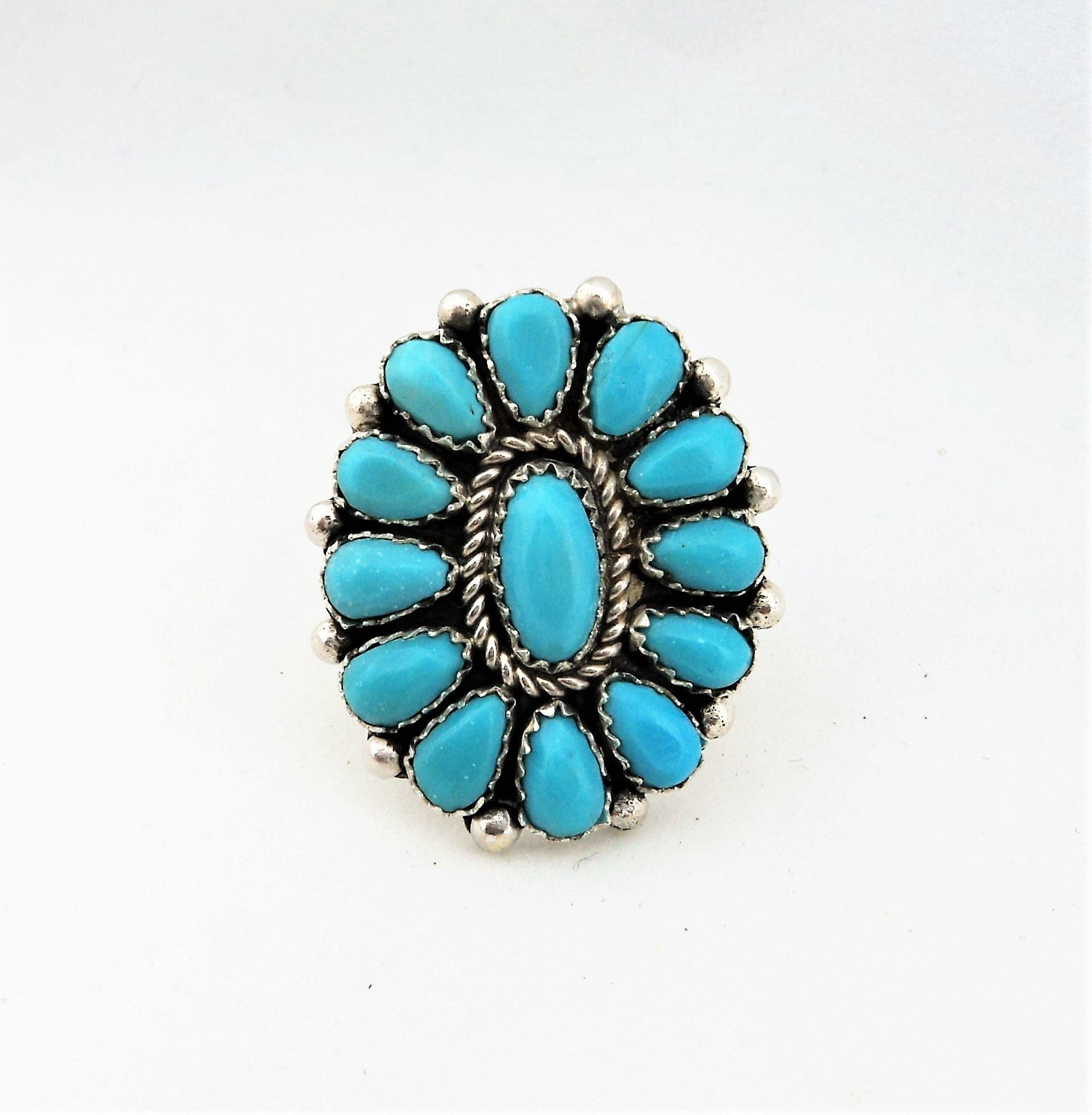 Fannie Begay Turquoise Ring