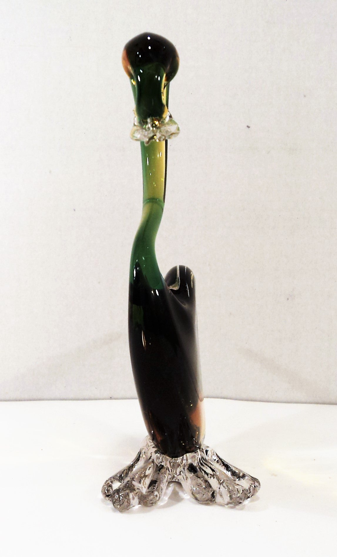 Vintage Murano Art Glass Duck