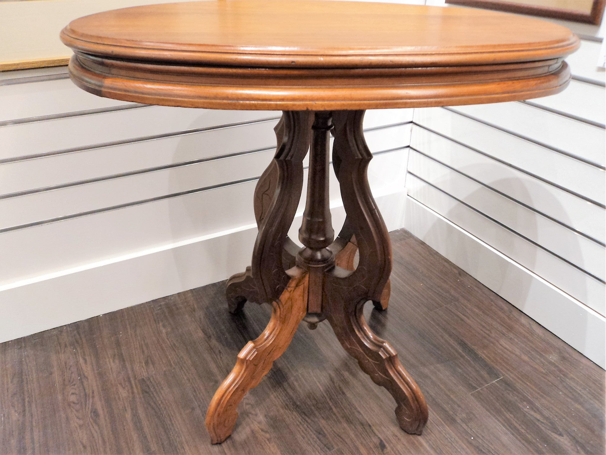 Victorian Walnut Oblong Table