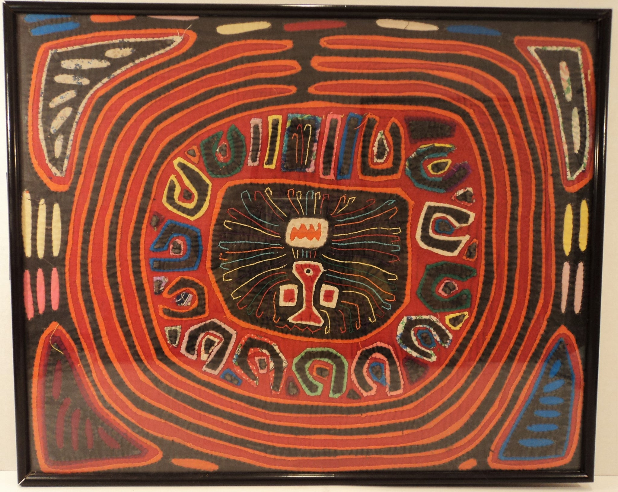20th C. Kuna Mola Panama Textile Art