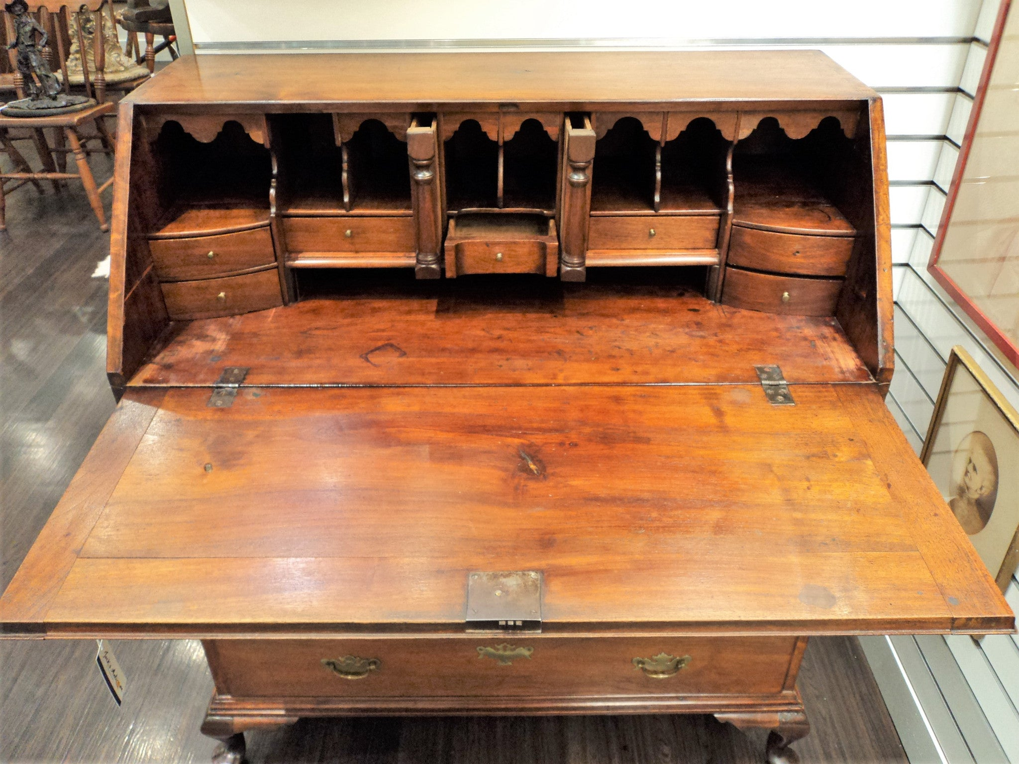 19th C. Governor Winthrop Desk