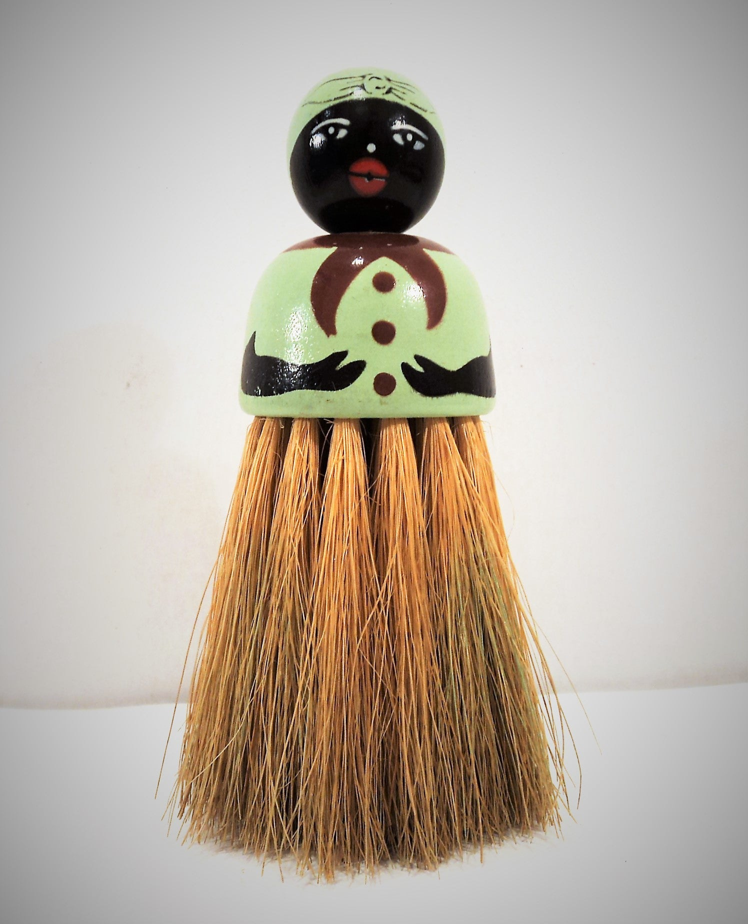 Black Americana Mammy Brush Doll
