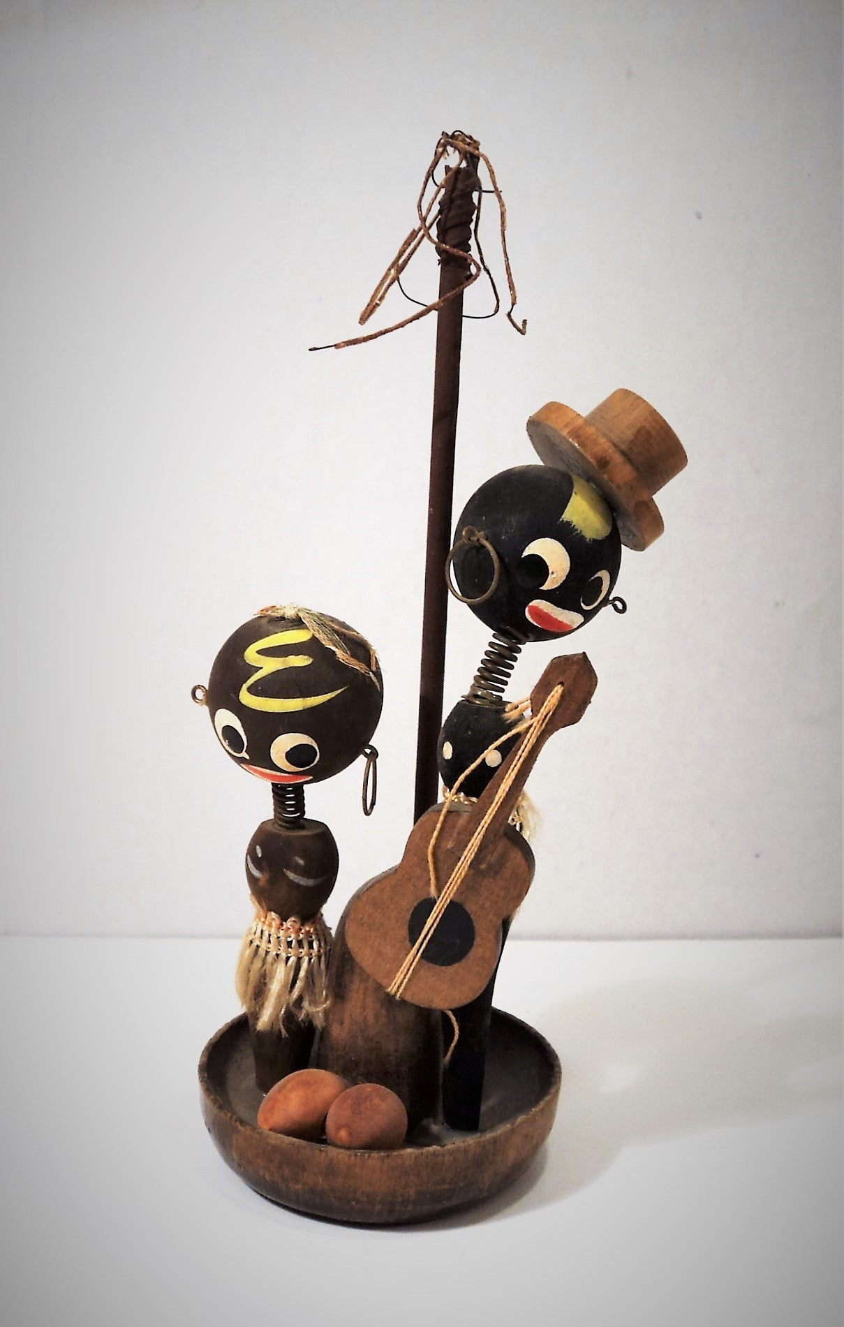 Black Americana Wooden Toy