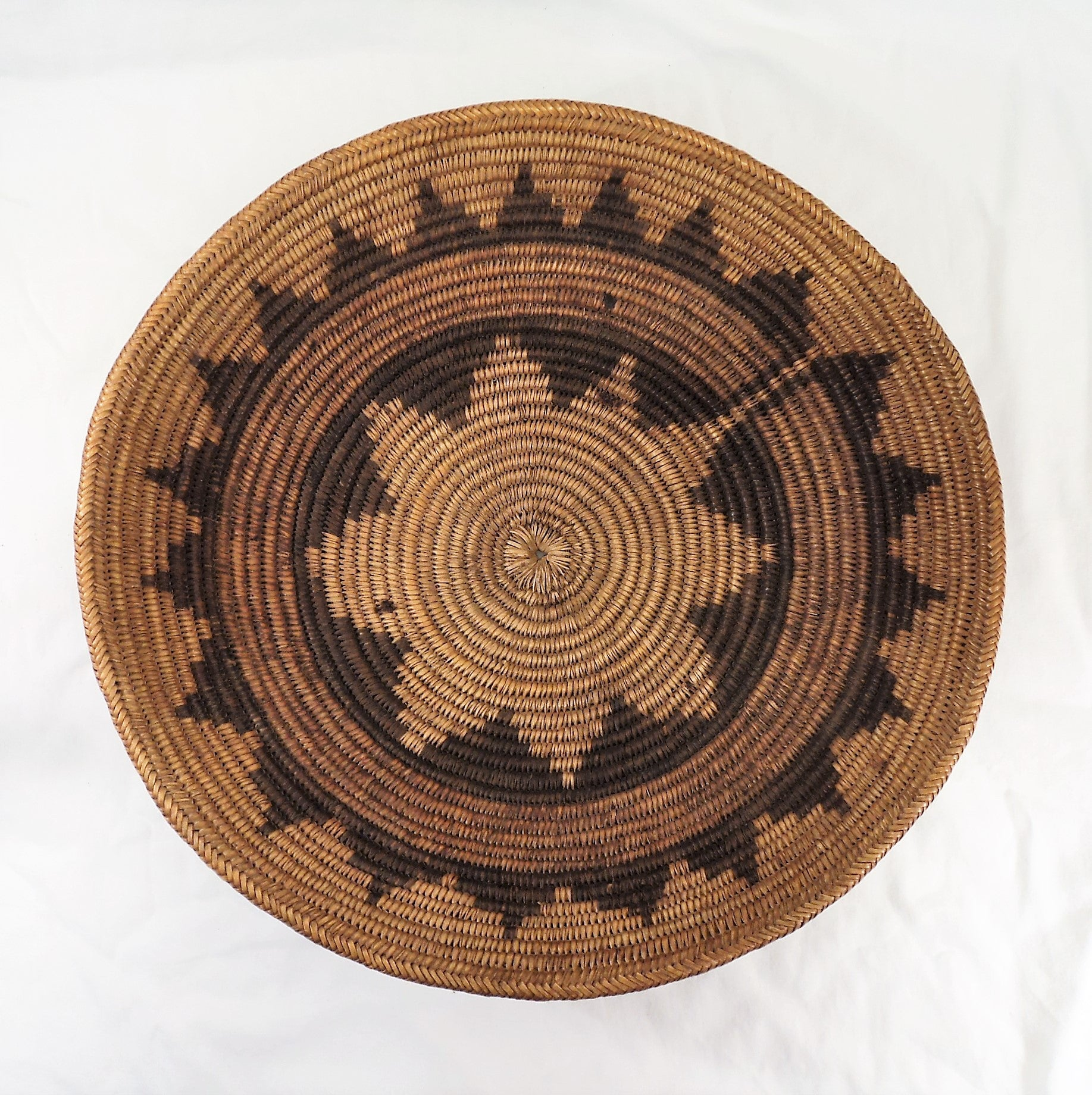 Navajo Coiled Wedding/Ceremonial Basket