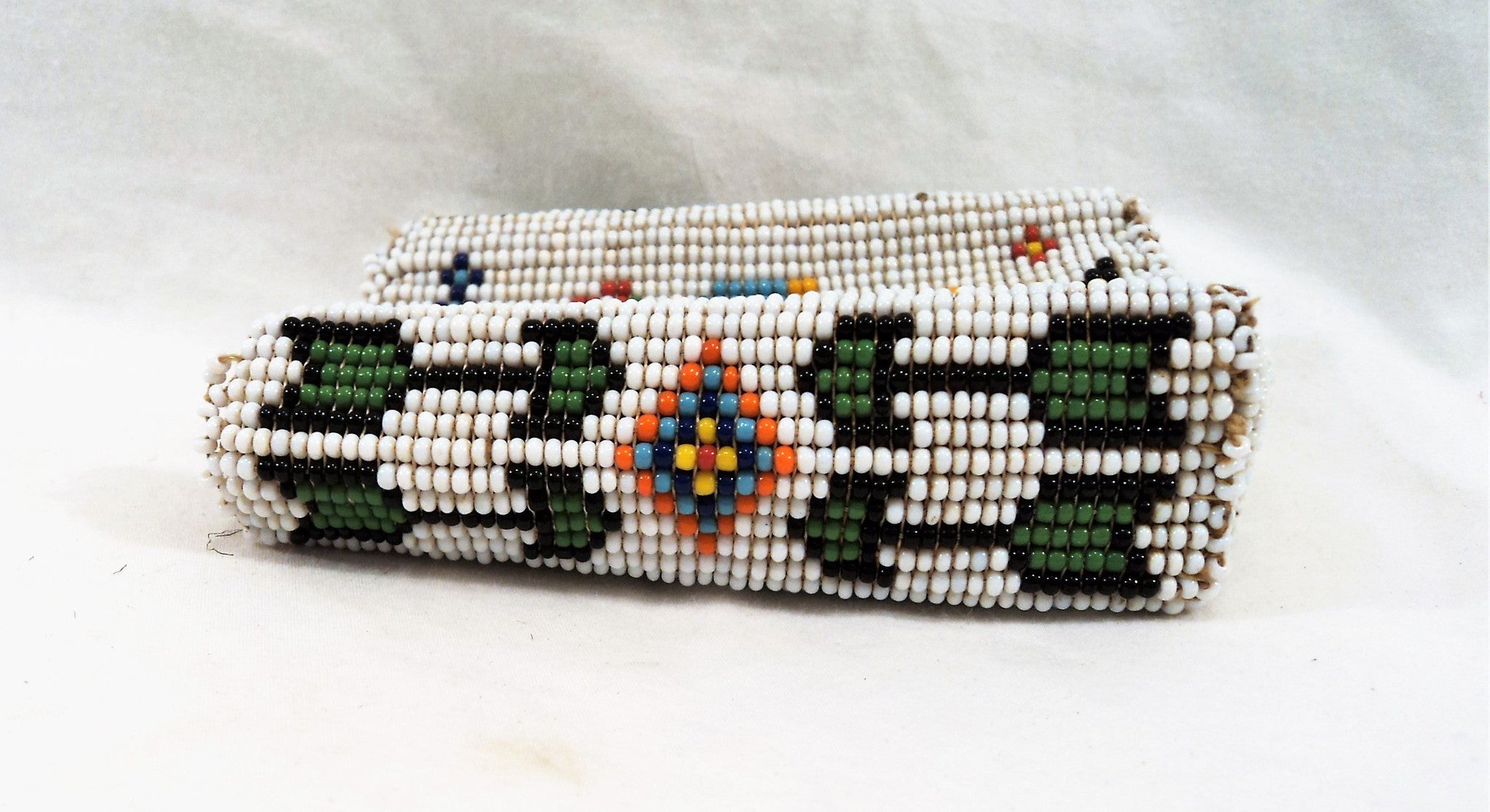 Hand-beaded Cigarette Pack Case
