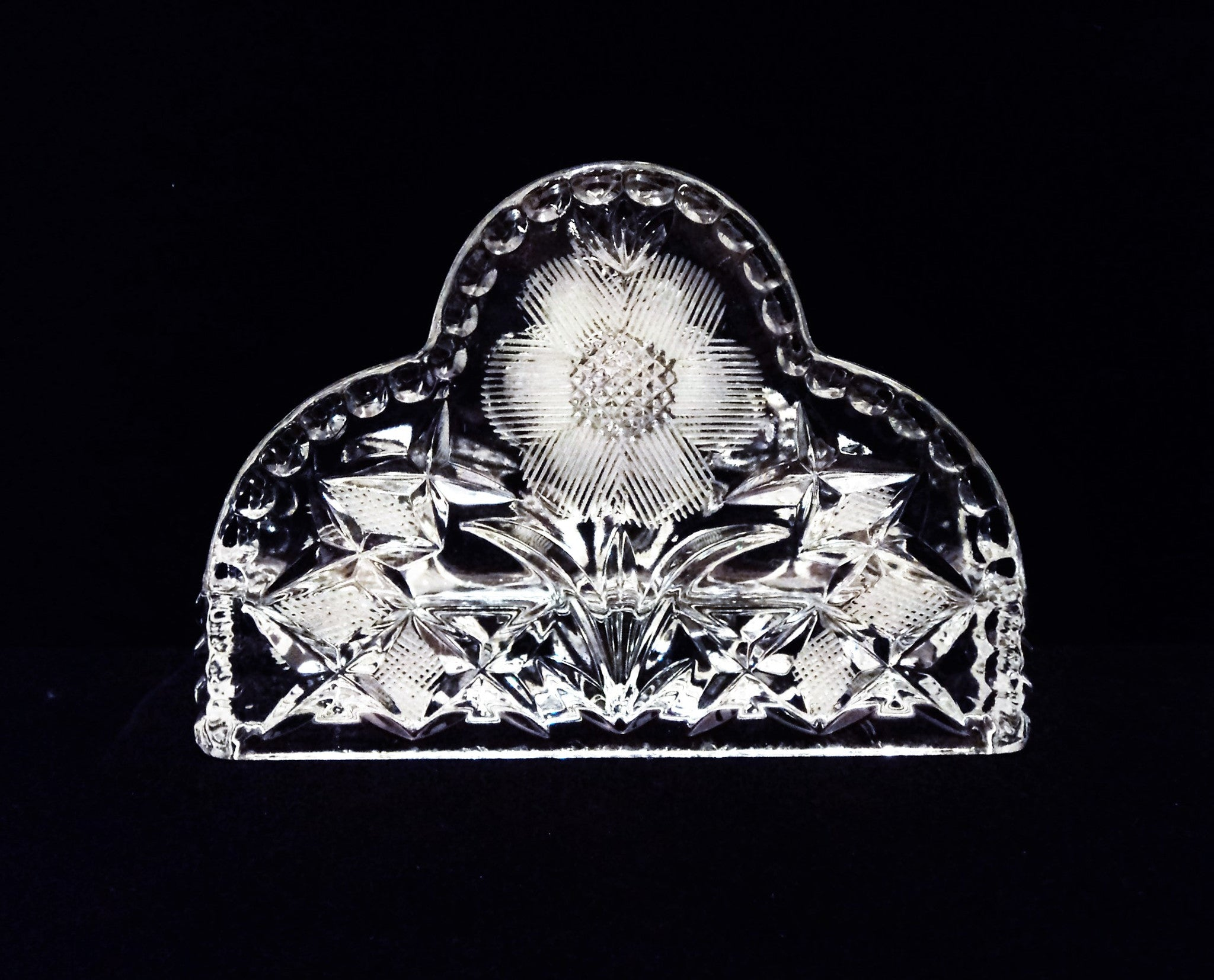 Crystal Napkin Holder