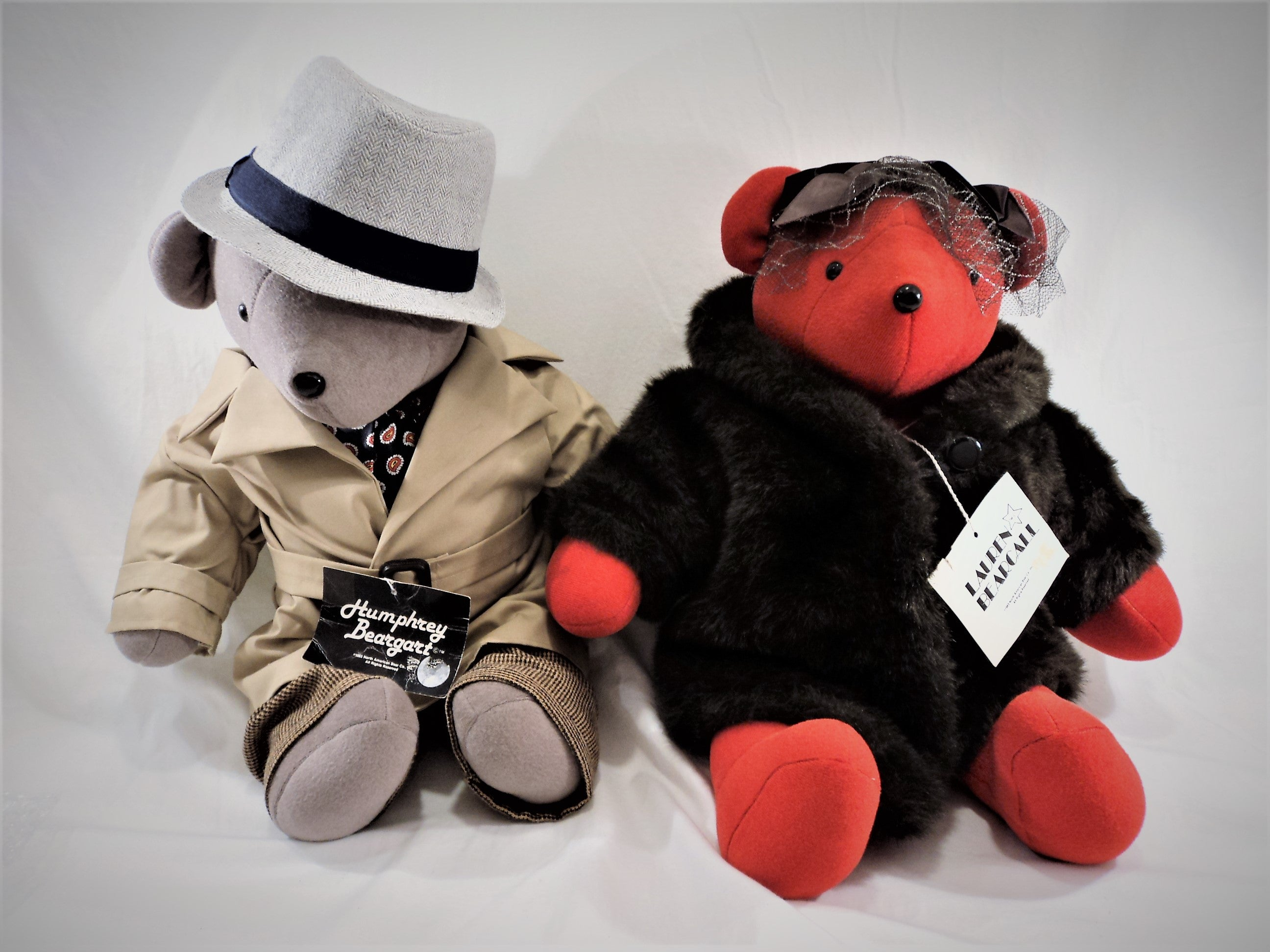 Vintage Humphrey Beargart and Lauren Bearcall Teddy Bear