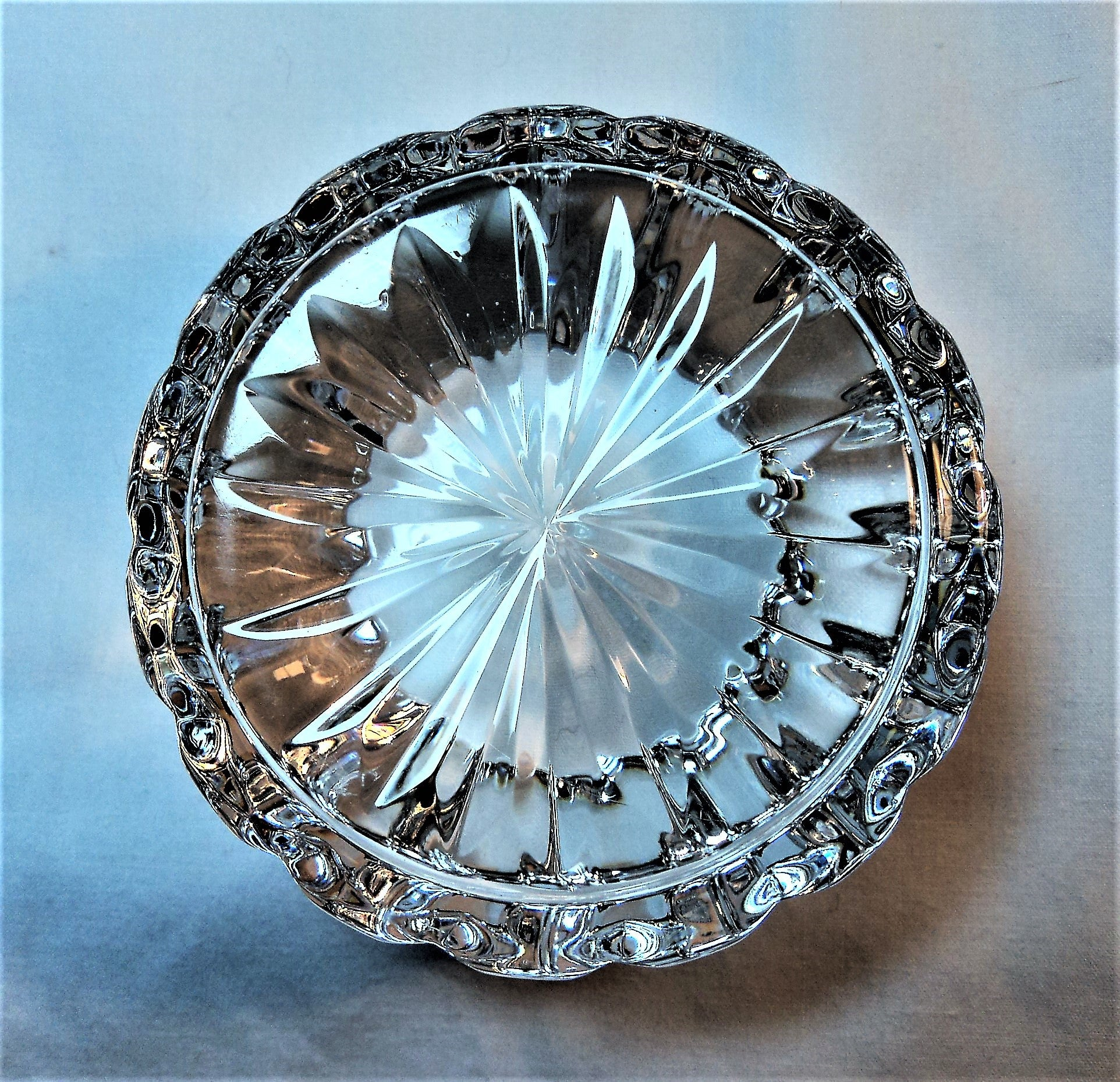 Leaded Crystal Paperweight