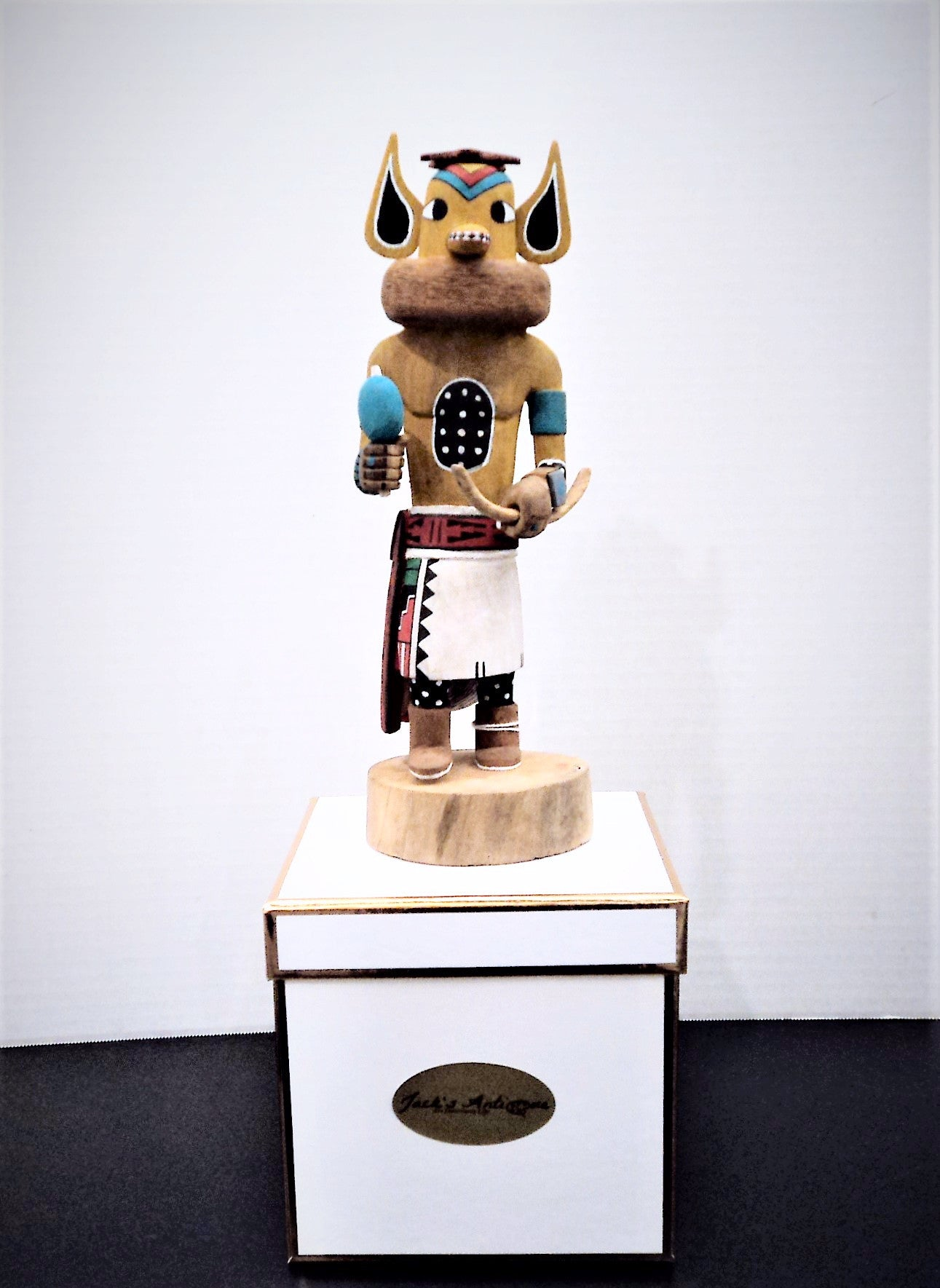 Miniature Fox Hopi Kachina by Vernon Dallas
