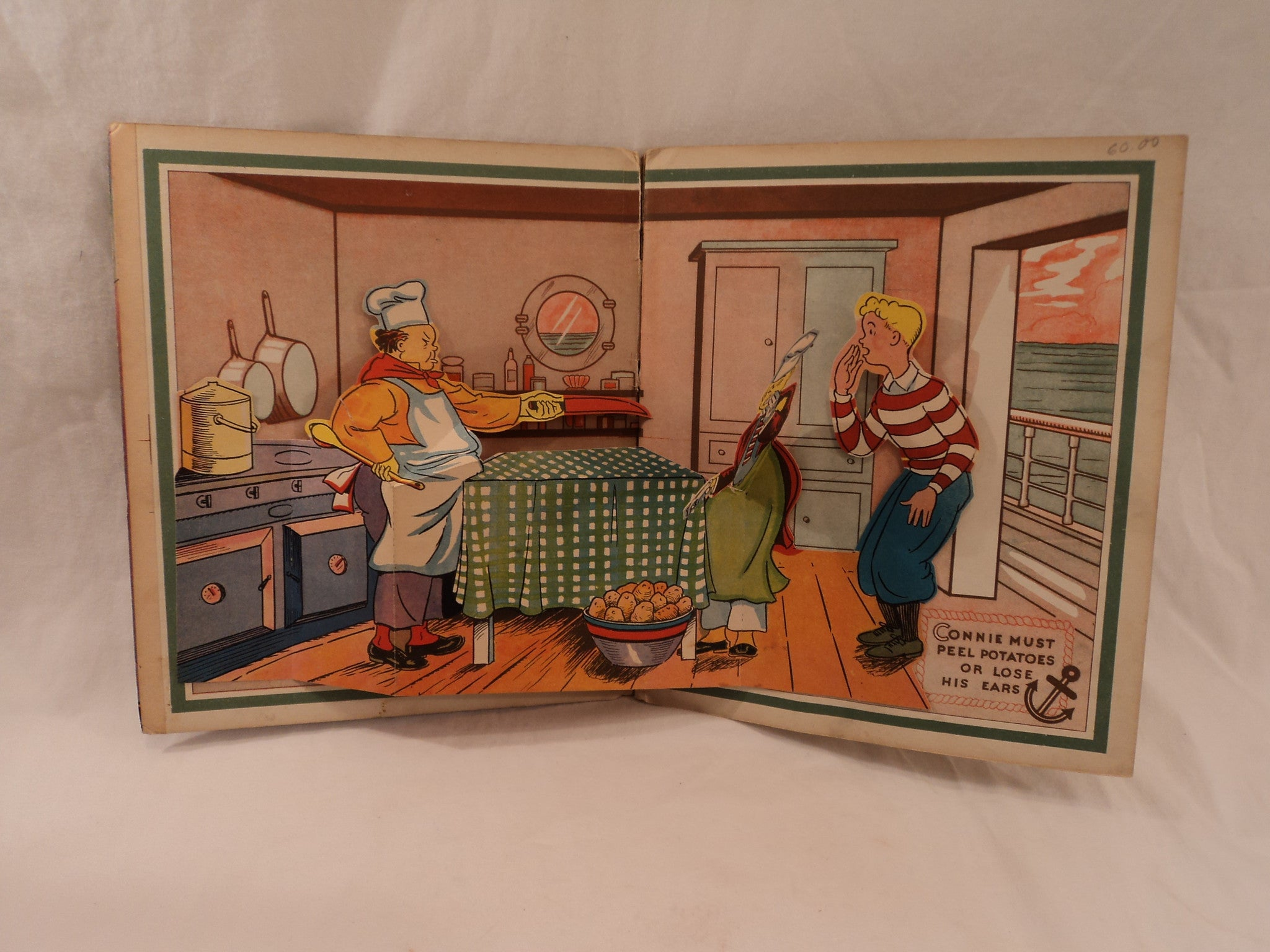 1935 The Pop-Up Terry and The Pirates Book