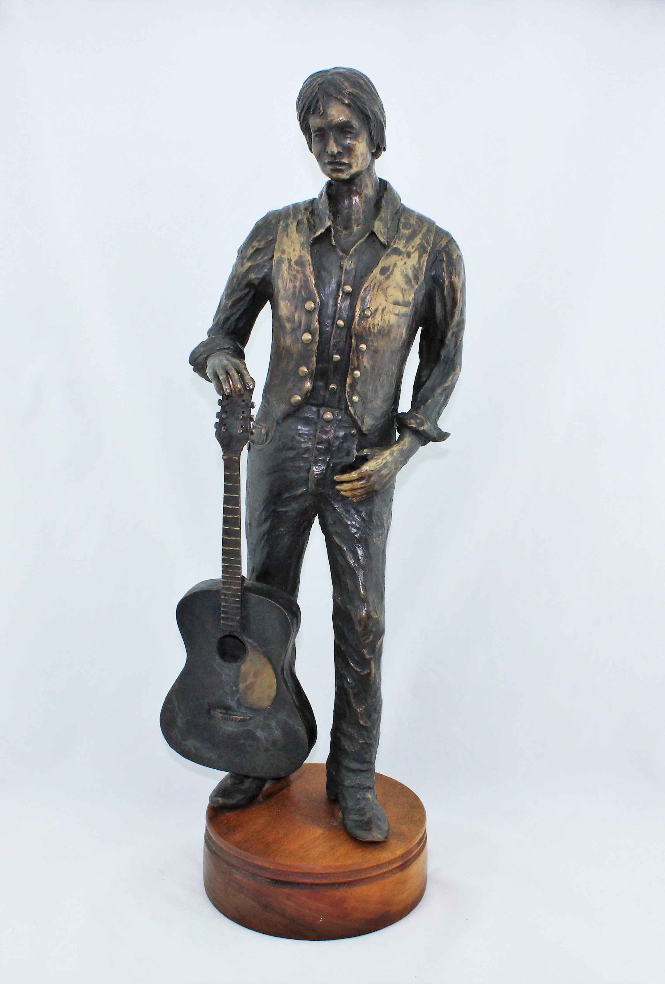 Ron Adamson 1/4 Scale Bronze Sculpture