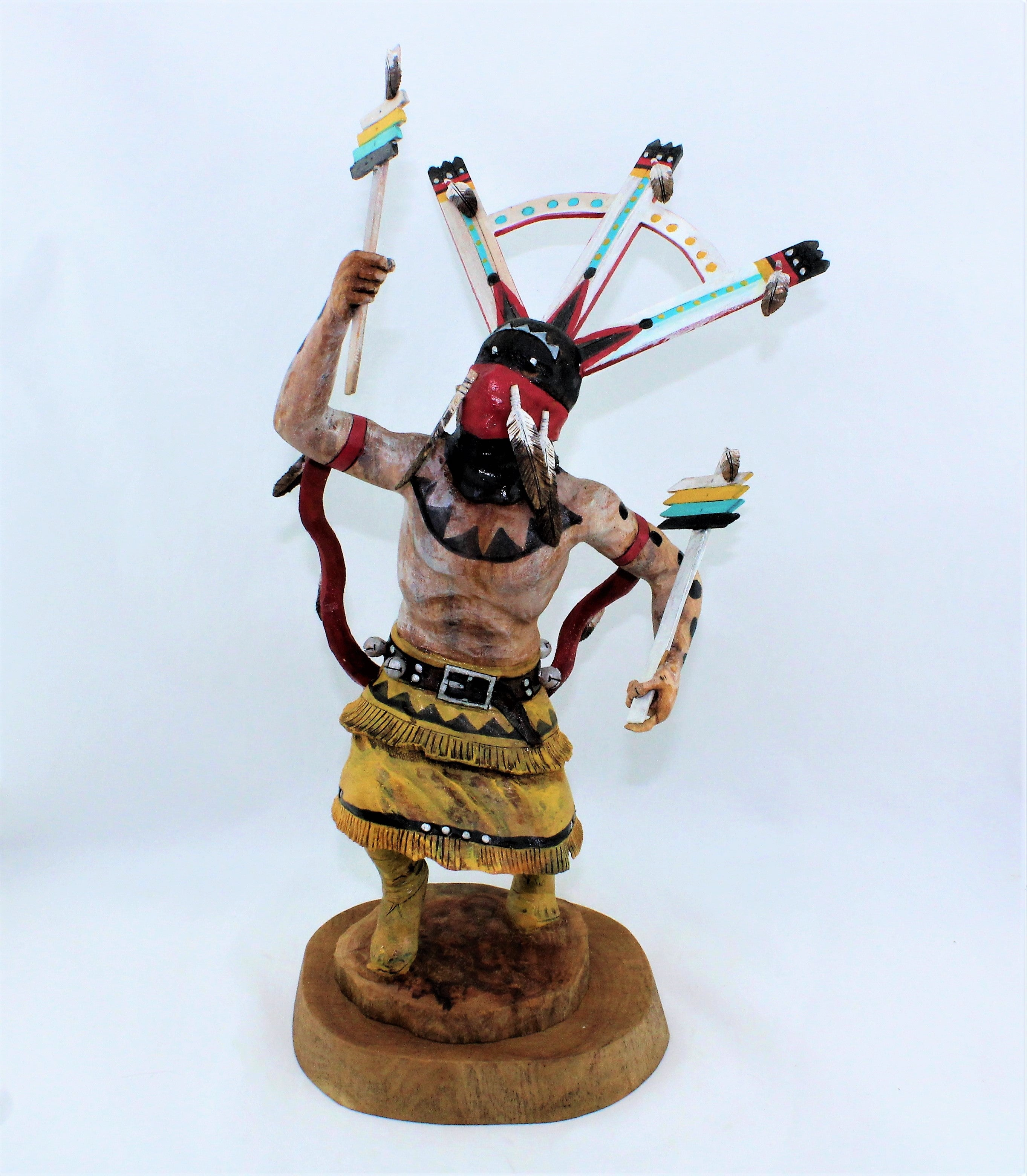 Raymond Chee Apache Dancer Sculpture