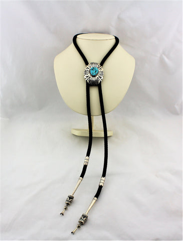 Tommy Singer Sterling Silver Bolo Tie