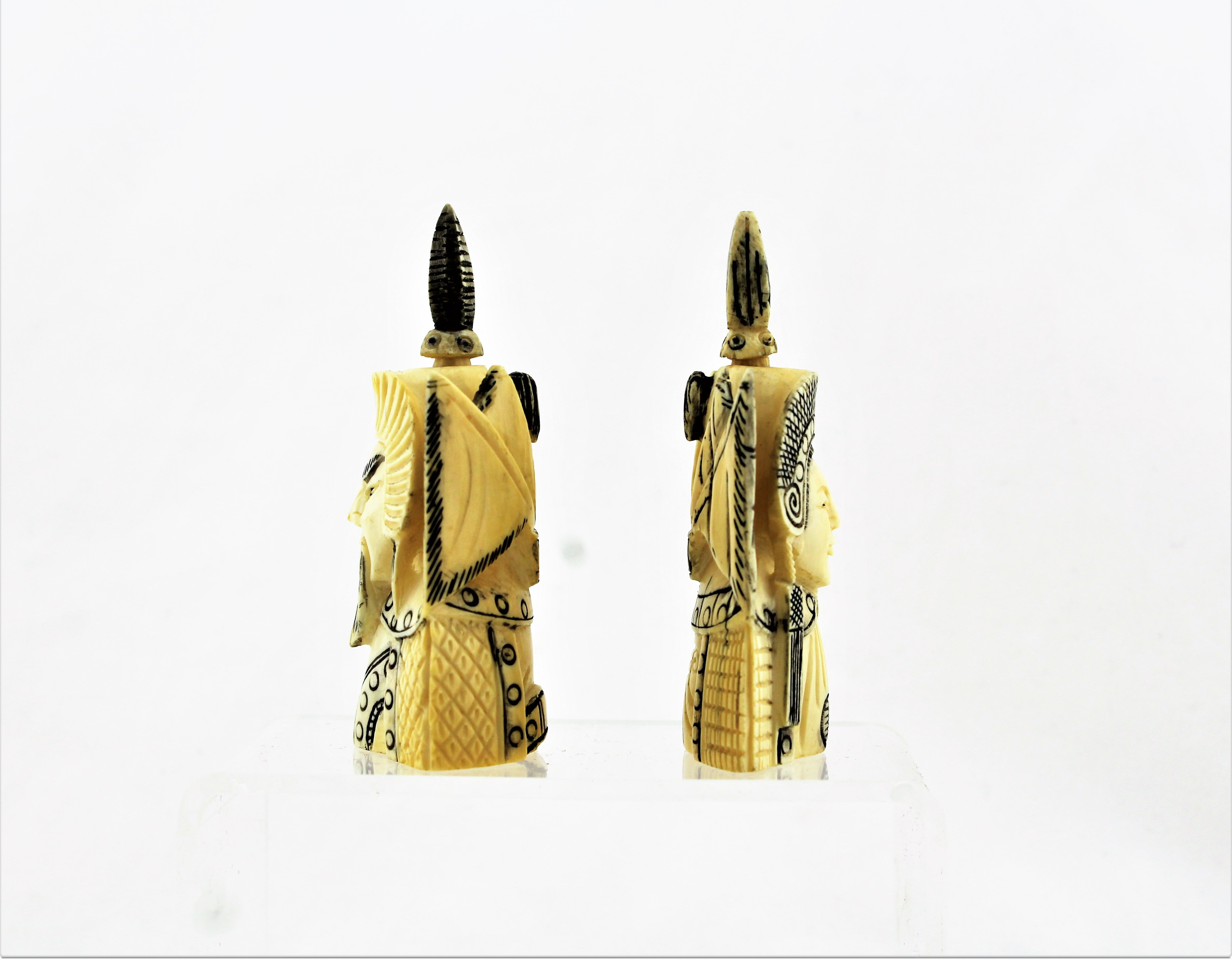 Carved Chinese Royalty Snuff Bottles