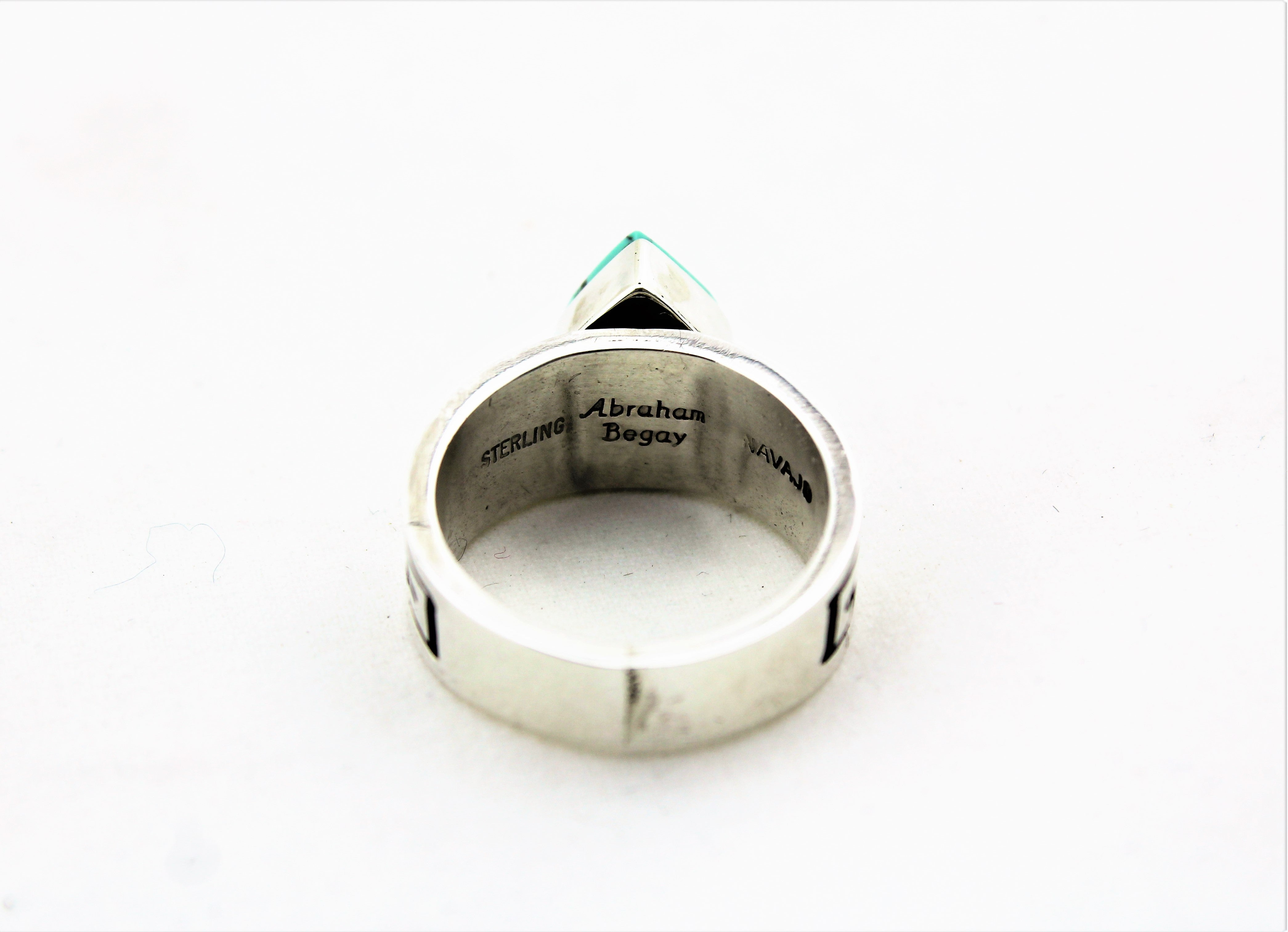 Abraham Begay Sterling Silver Ring