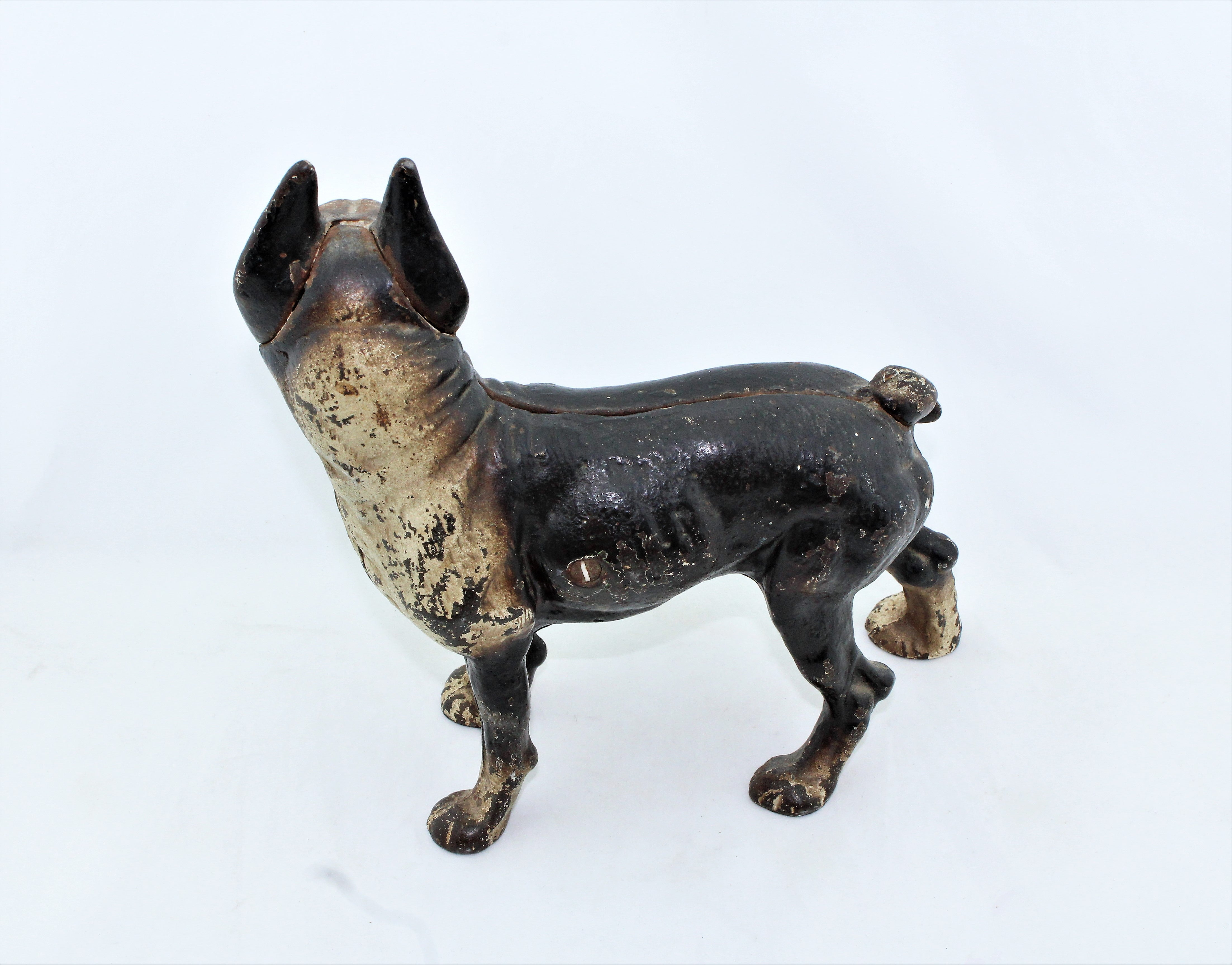 Antique Boston Terrier Door Stop