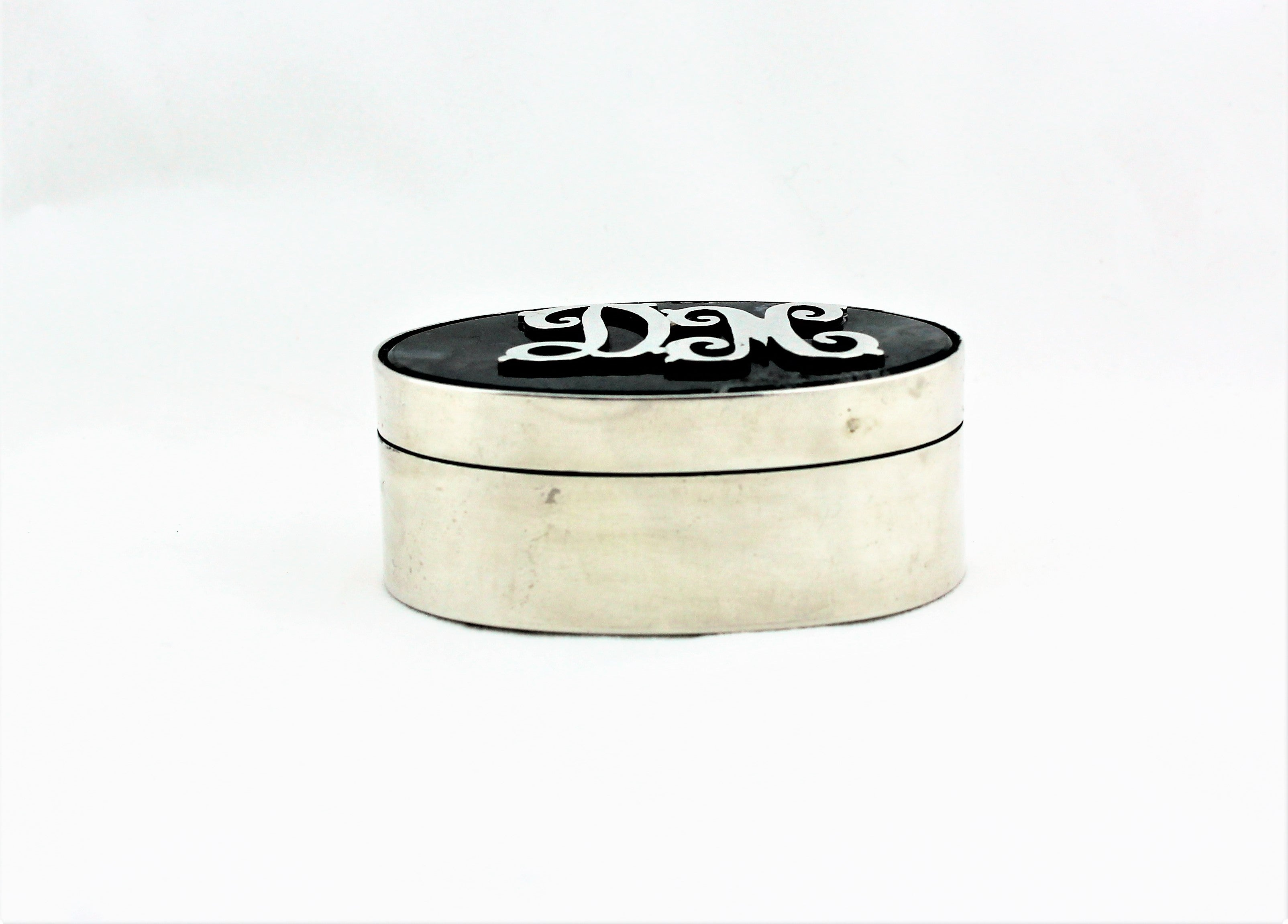 Sterling Silver Mossy Agate Box