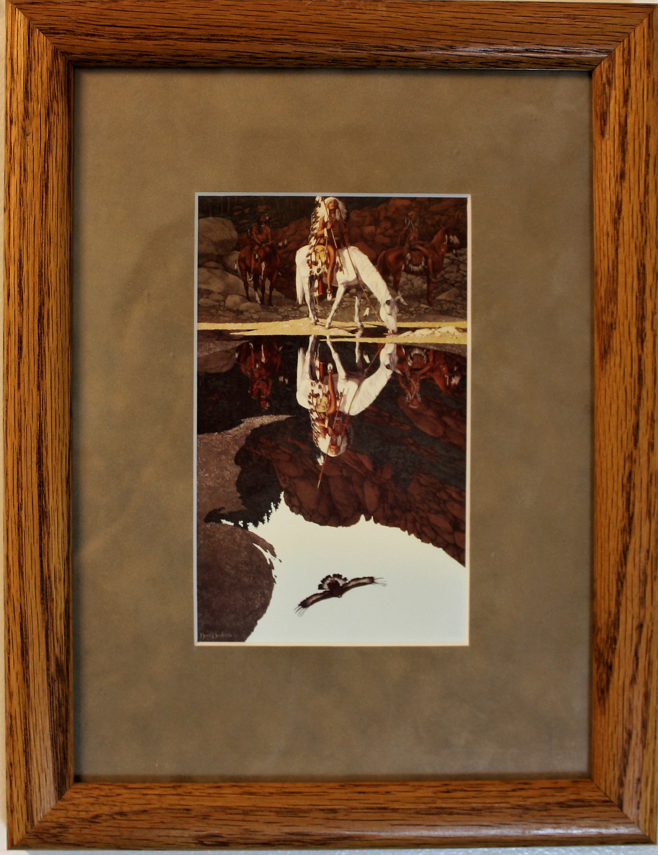 The Good Omen Print by Bev Doolittle