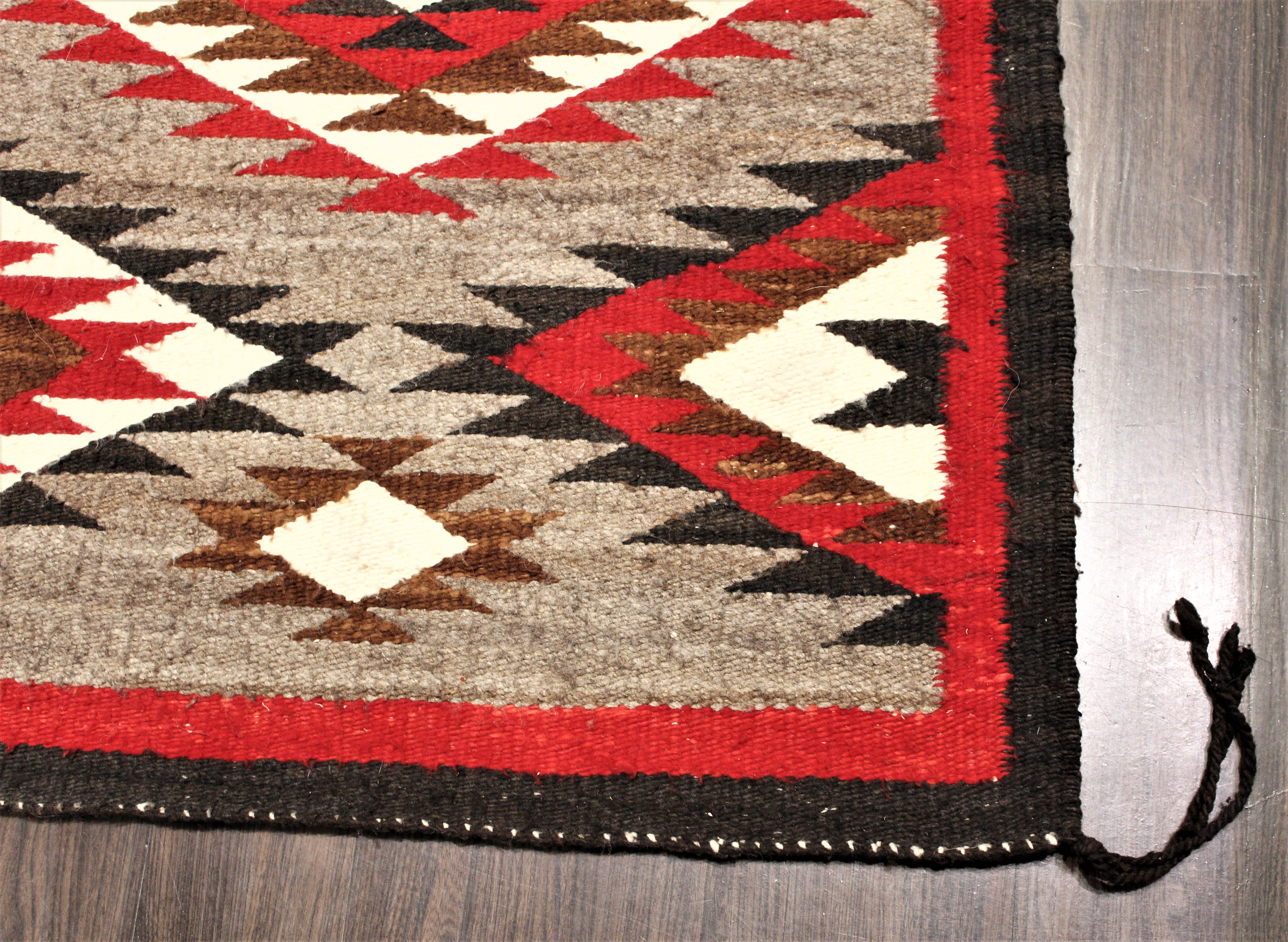 1940s Navajo Butterfly Pattern Rug