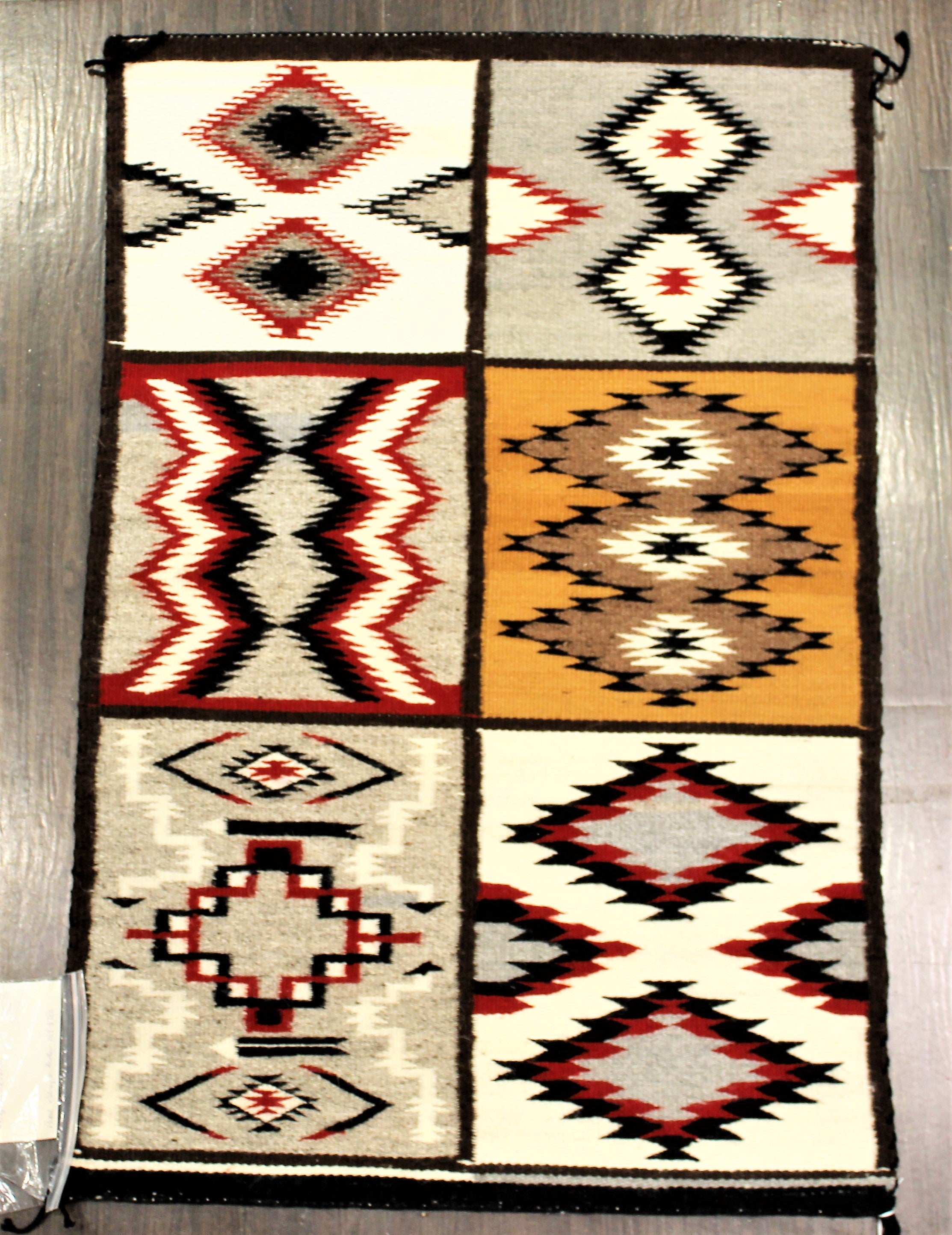 1970s Six In One Navajo Rug