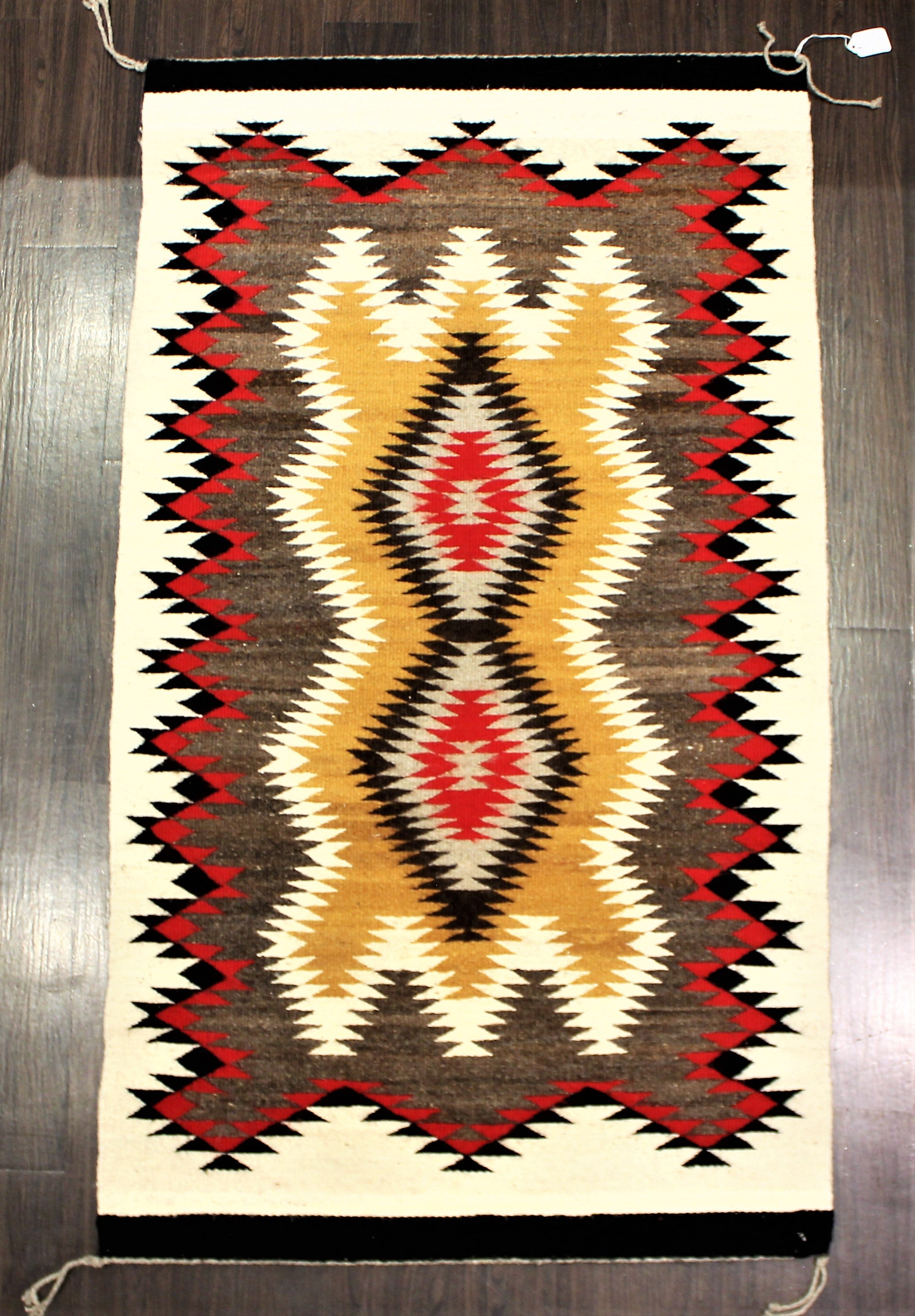 Sunrise Pattern Navajo Rug