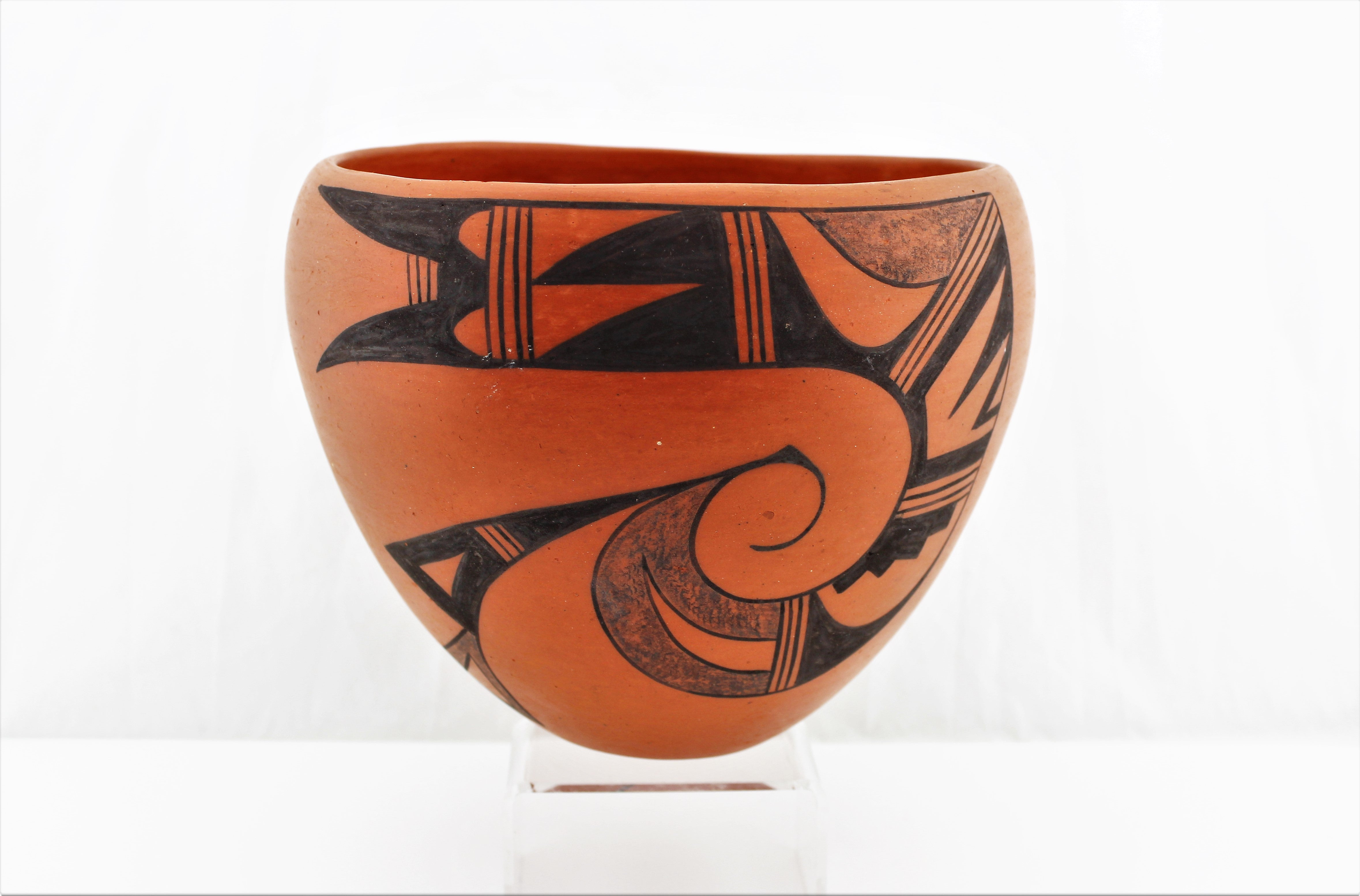 Hopi Tewa Village Pottery Bowl