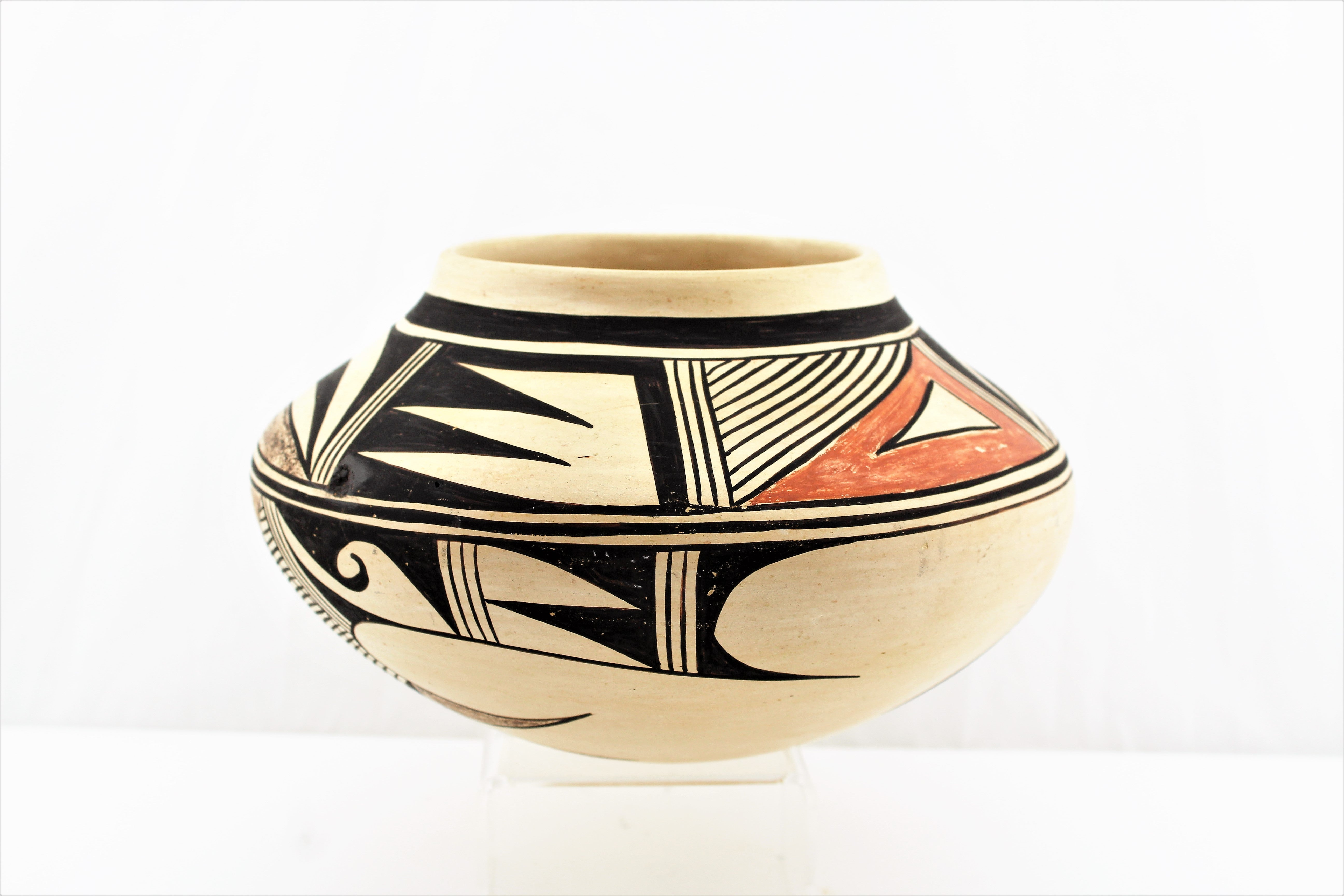 Tewa Village Pottery Bowl